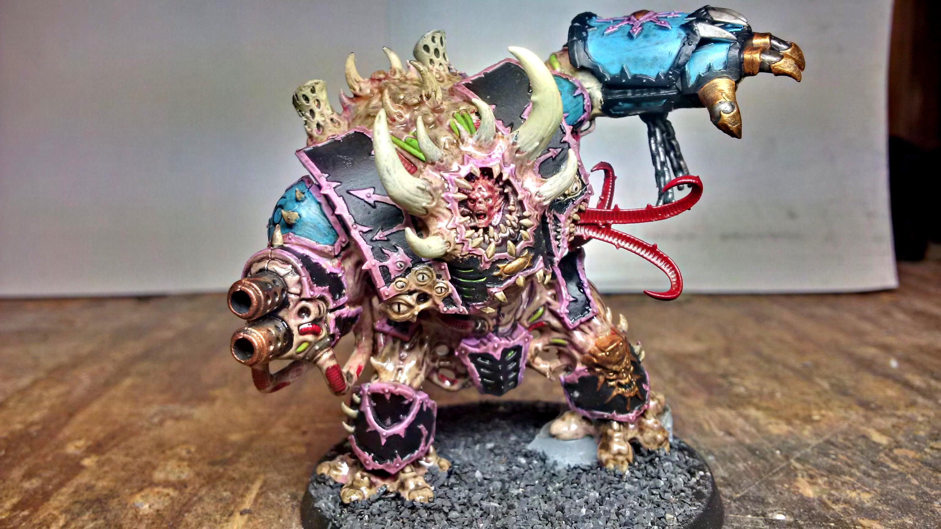 Chaos, Chaos Space Marines, Dreadnought, Helbrute, Slaanesh