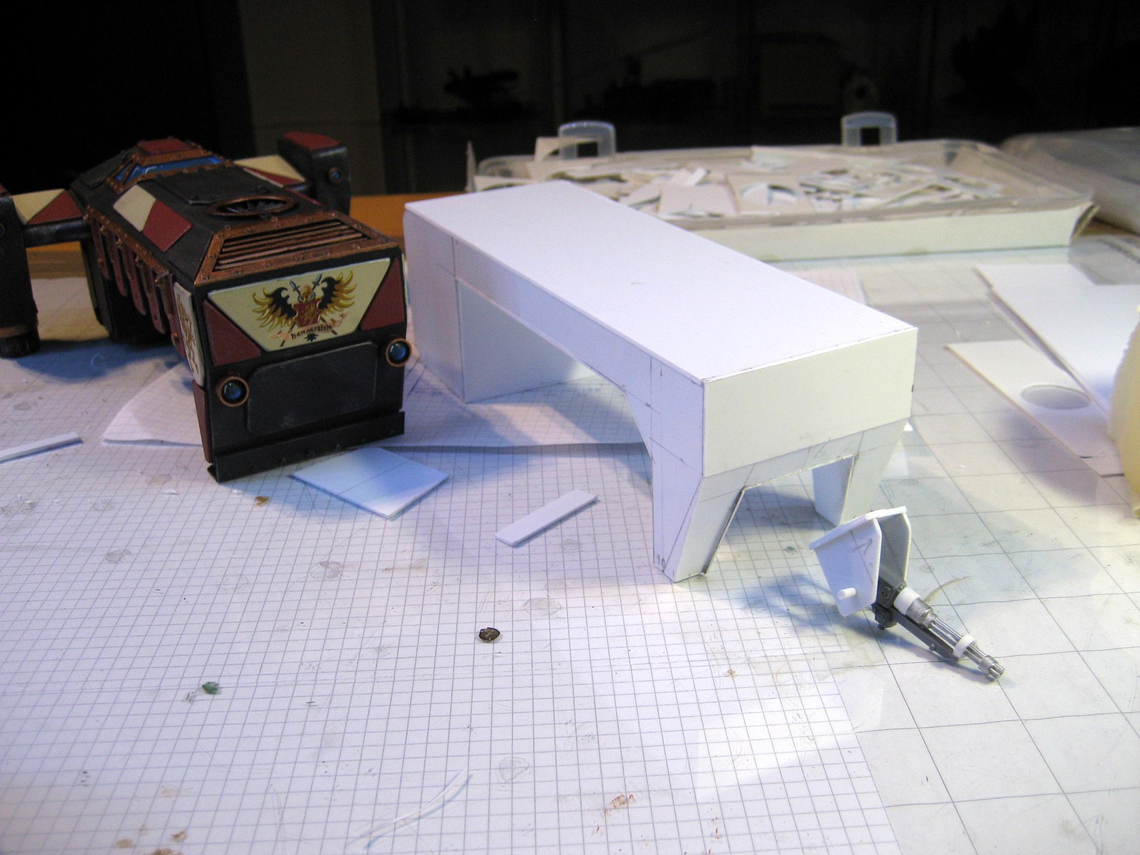 Scratch Build, Shuttle