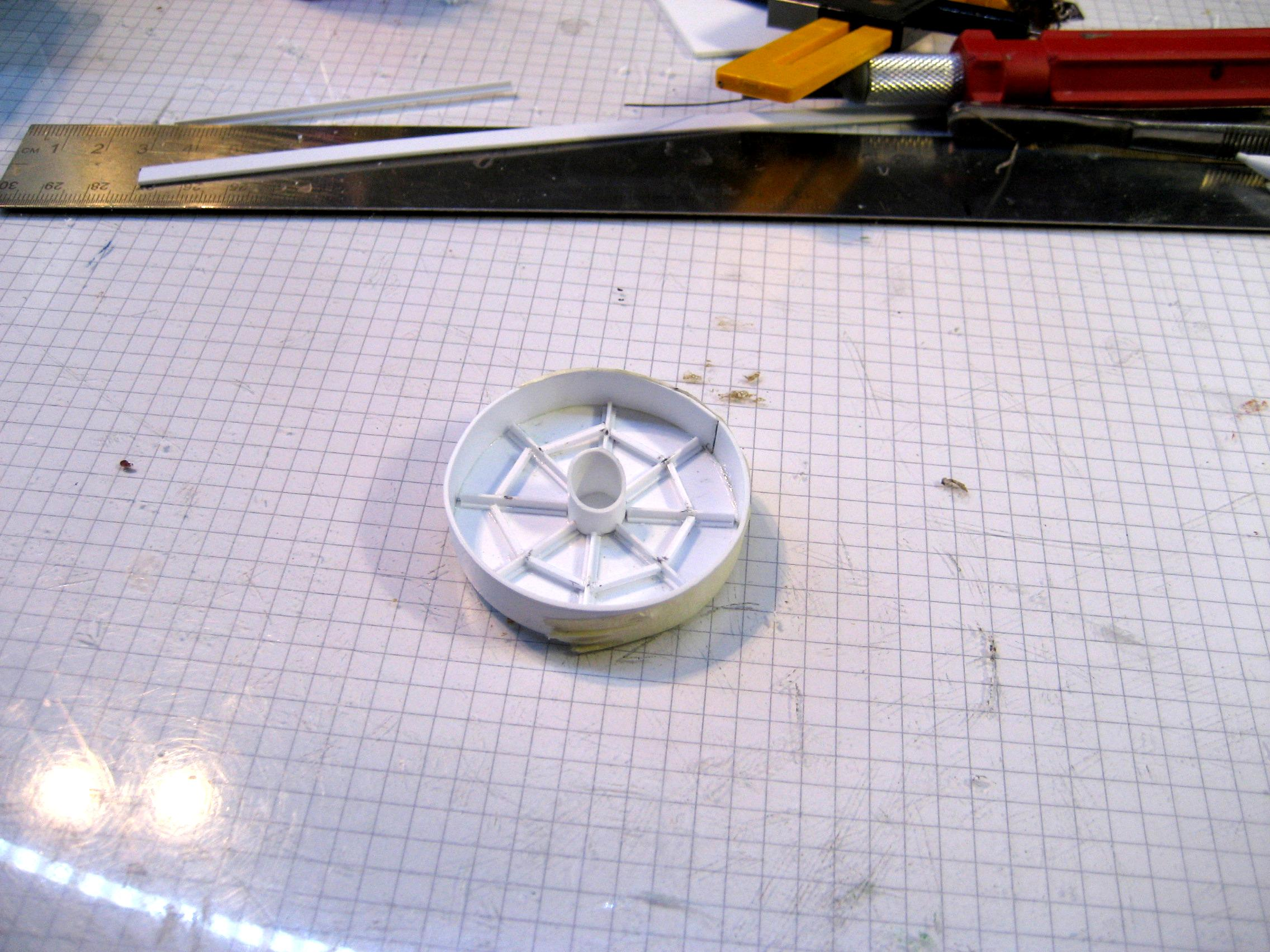 thruster step 1