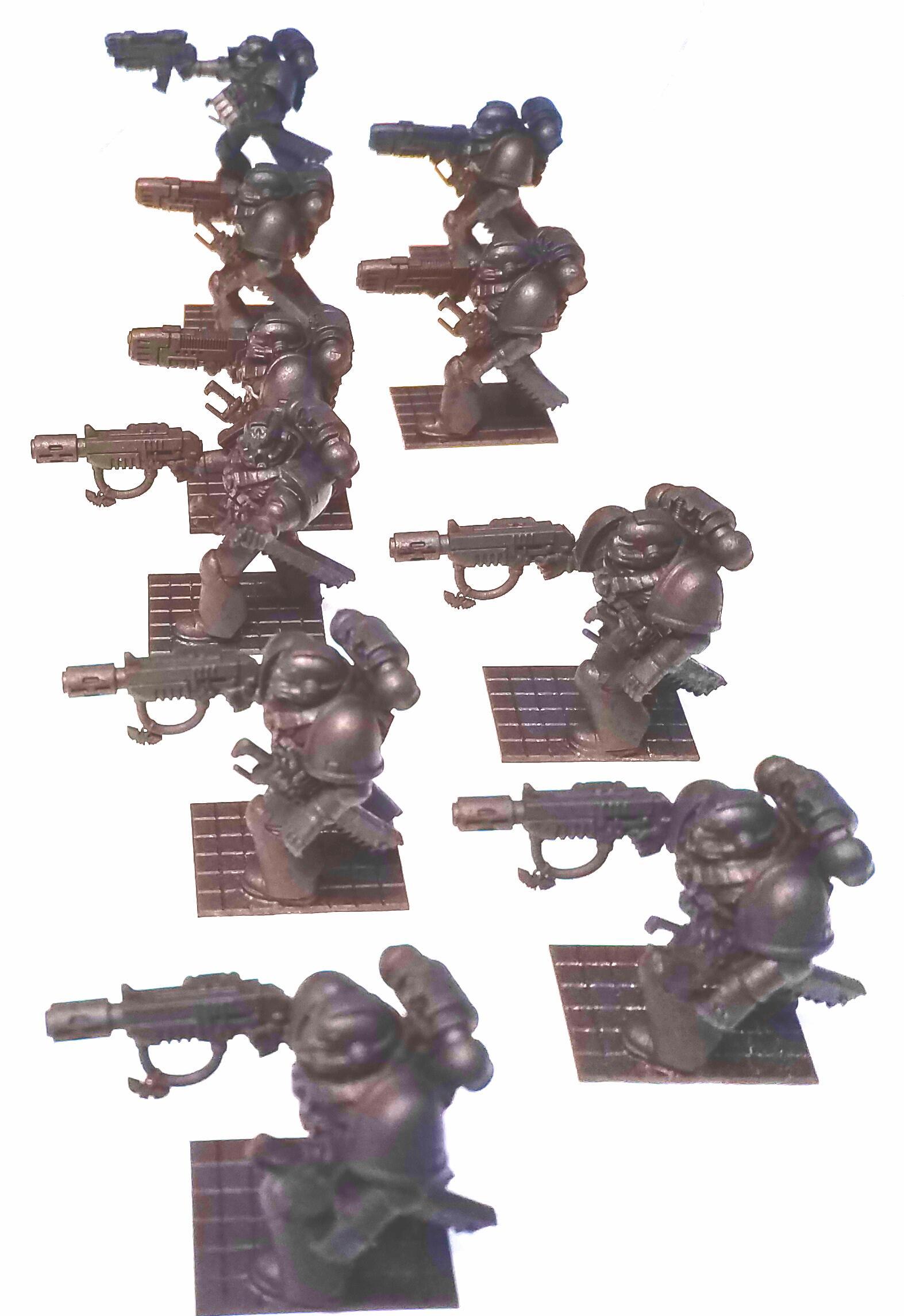 Assault, Dark Angels, Space Marines