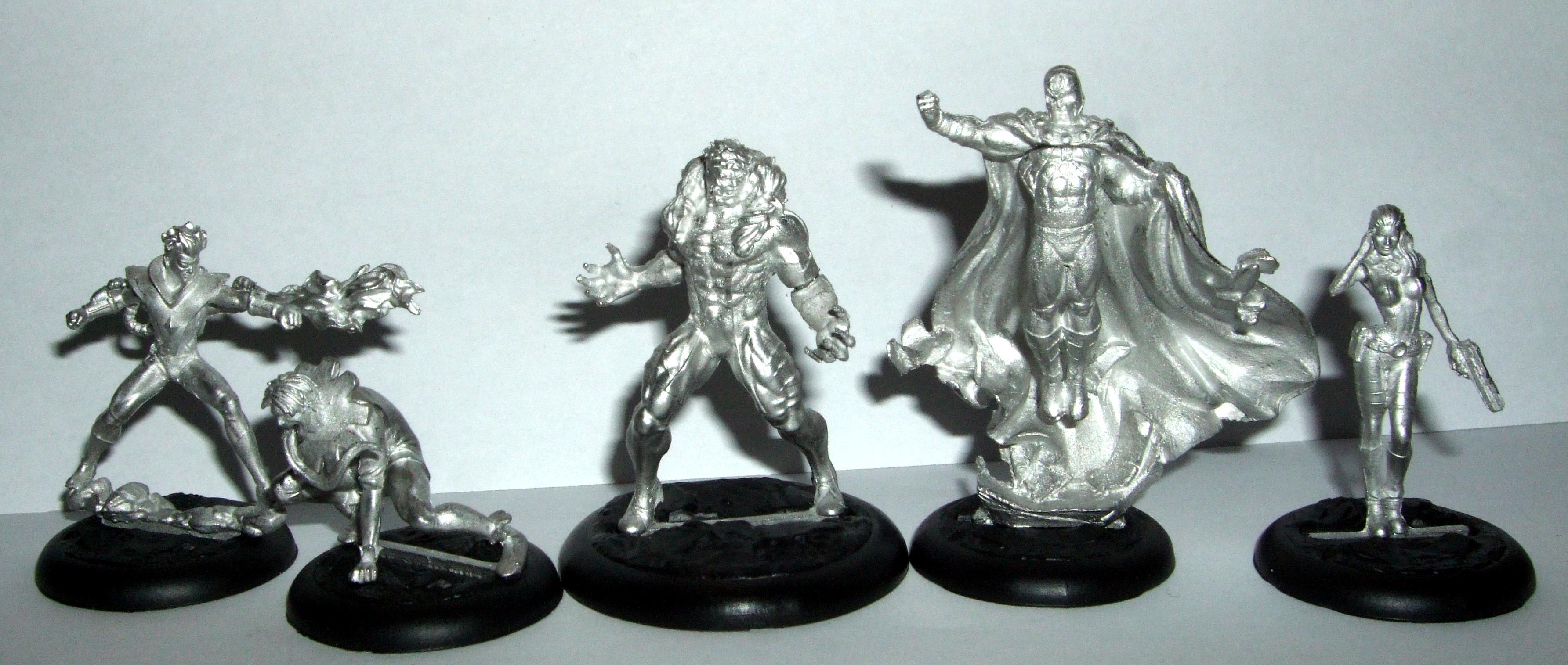 Knightmodels, Magneto, Marvel, Mastermind, Pyro, Sabertooth, Sabretooth, Toad, X-men