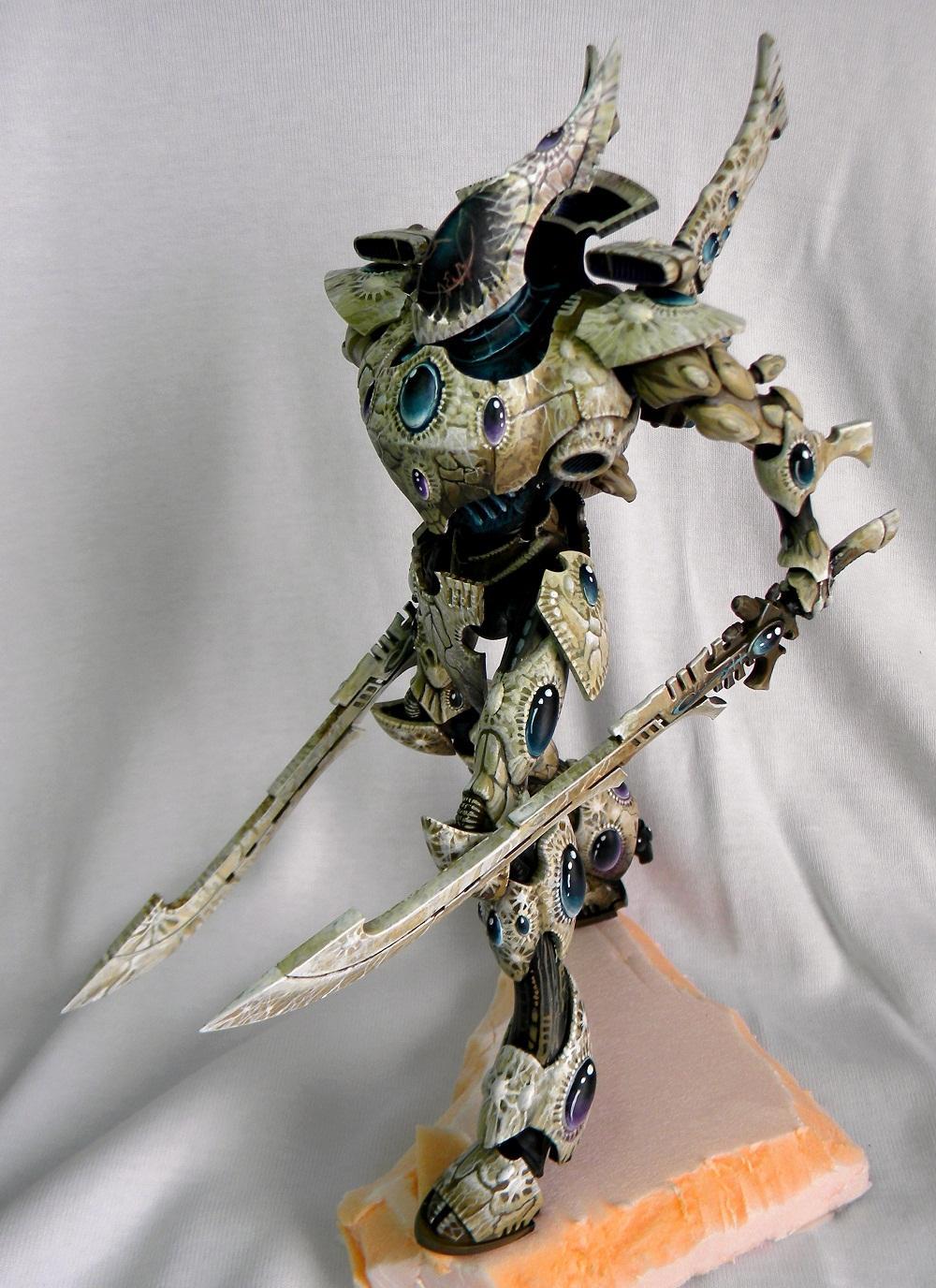 Eldar, Freehand, Warhammer 40,000, Wraithknight