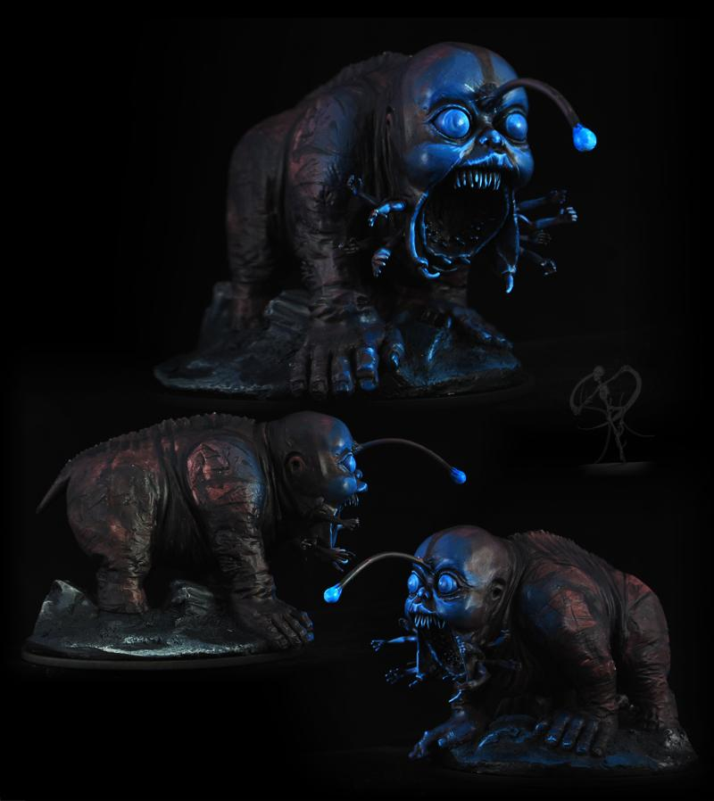 Horrors, Kingdom Death, Object Source Lighting, Warhammer Fantasy