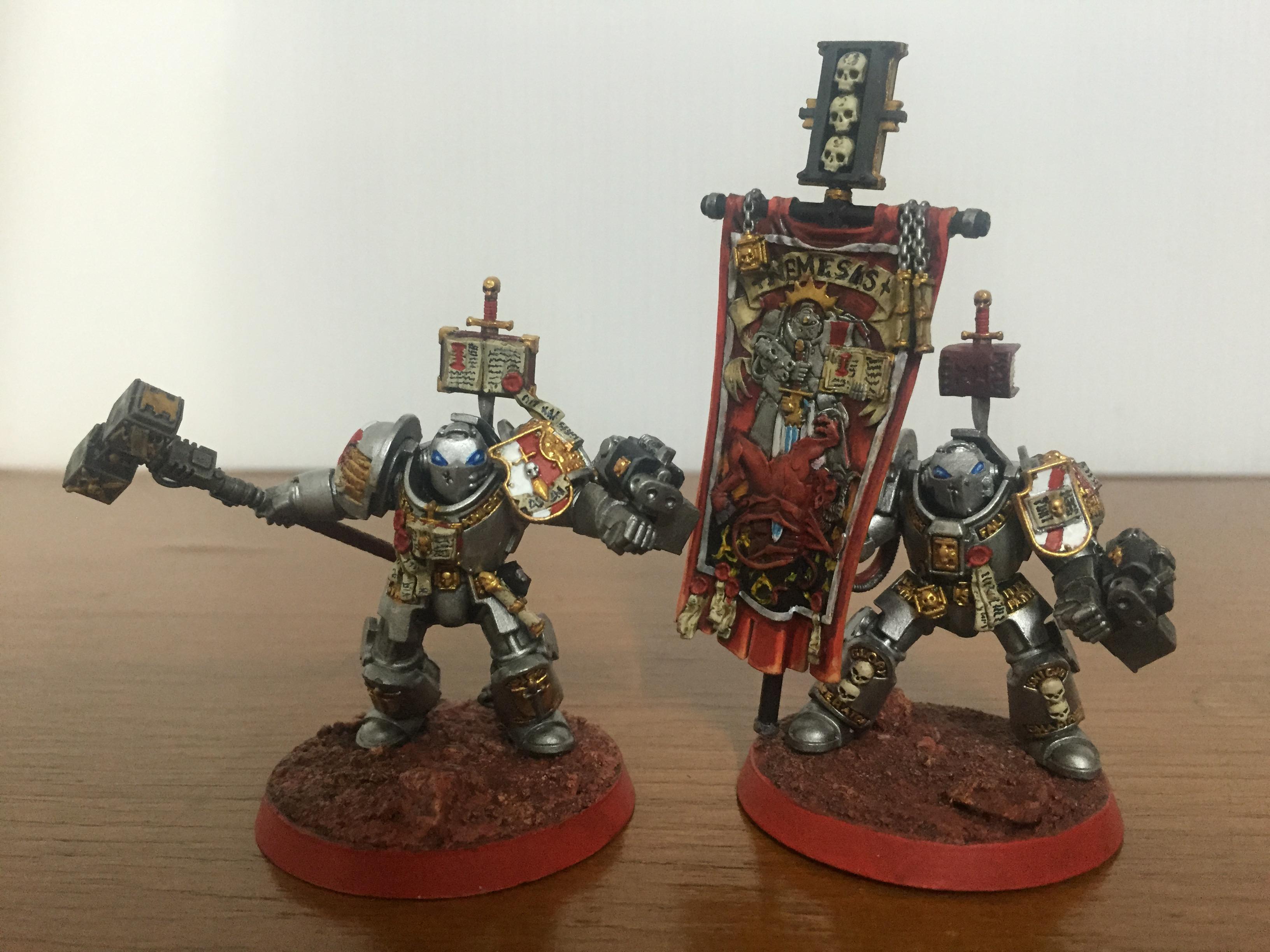 Banner, Grey Knights