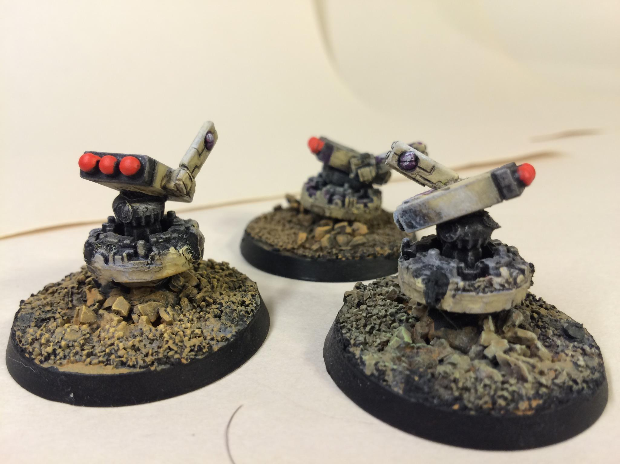 Gue'vesa, Tactical Turrents, Tau, Tauarmy7/28/16