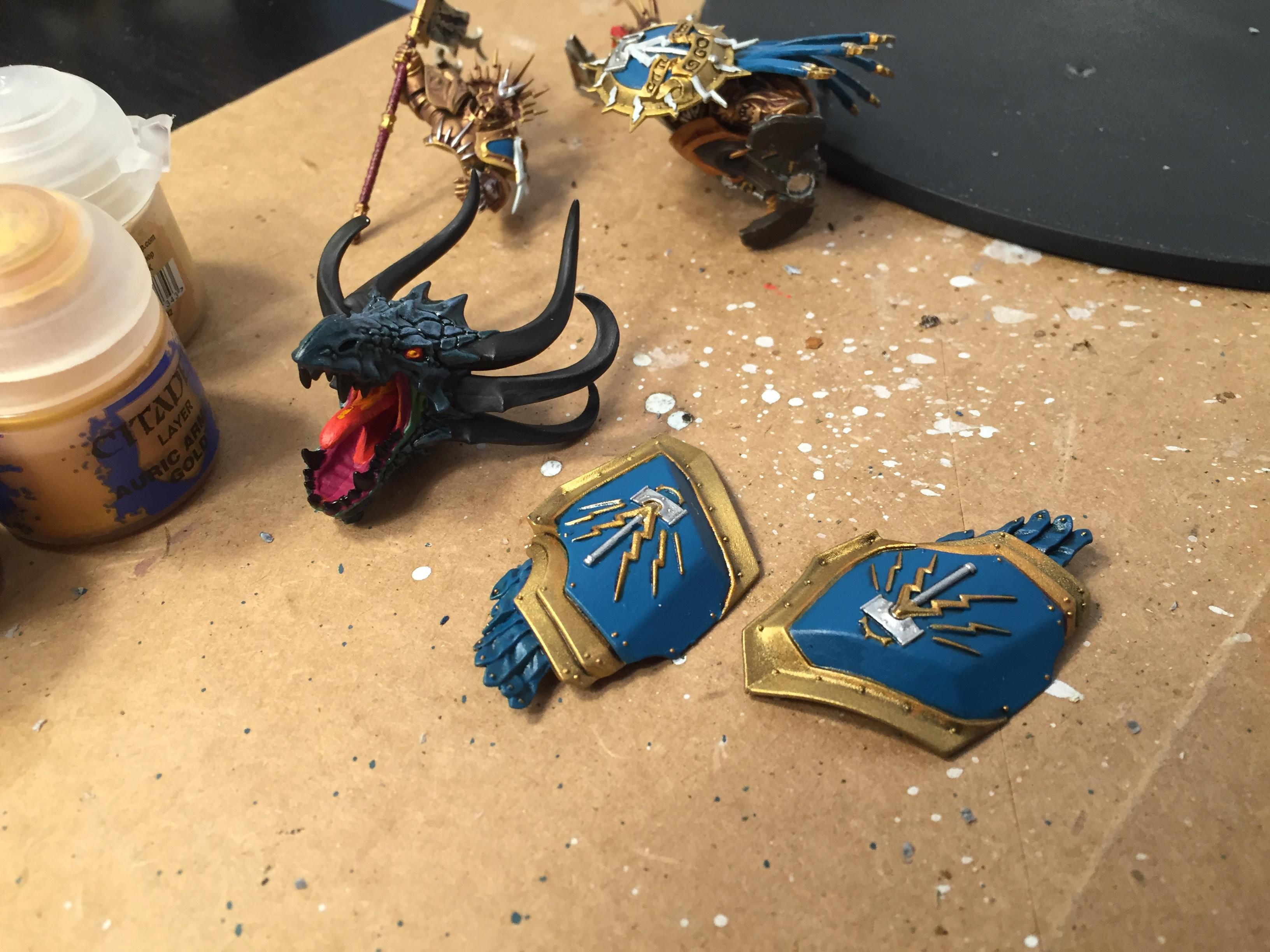 Stardrake, Stormcast, Work In Progress