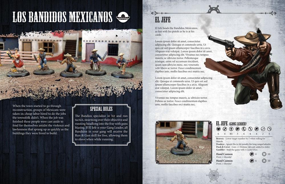 Bandidos Rulebook spread