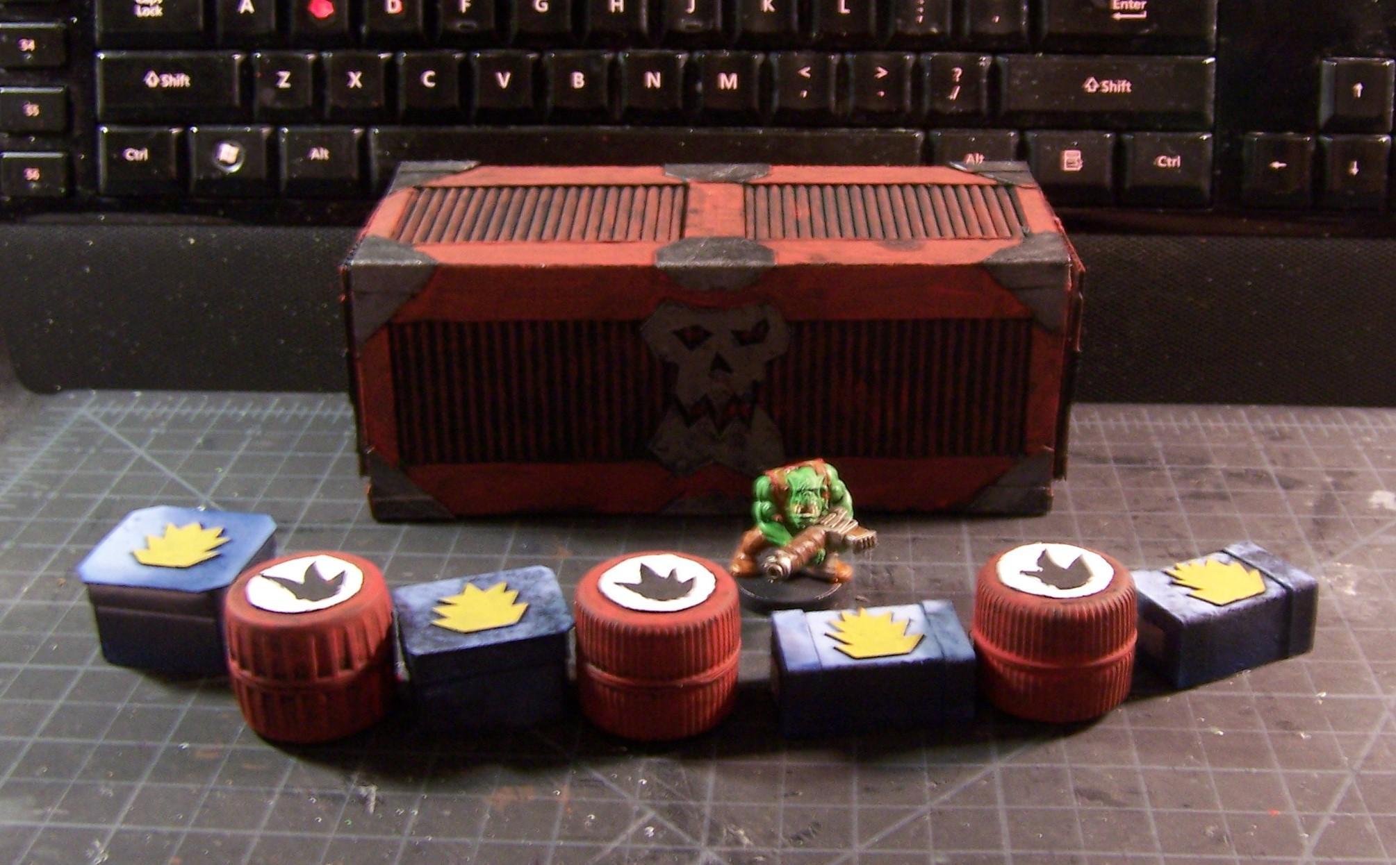 Armored Container, Container, Custom, Kustom, Munitorum Container, Orks