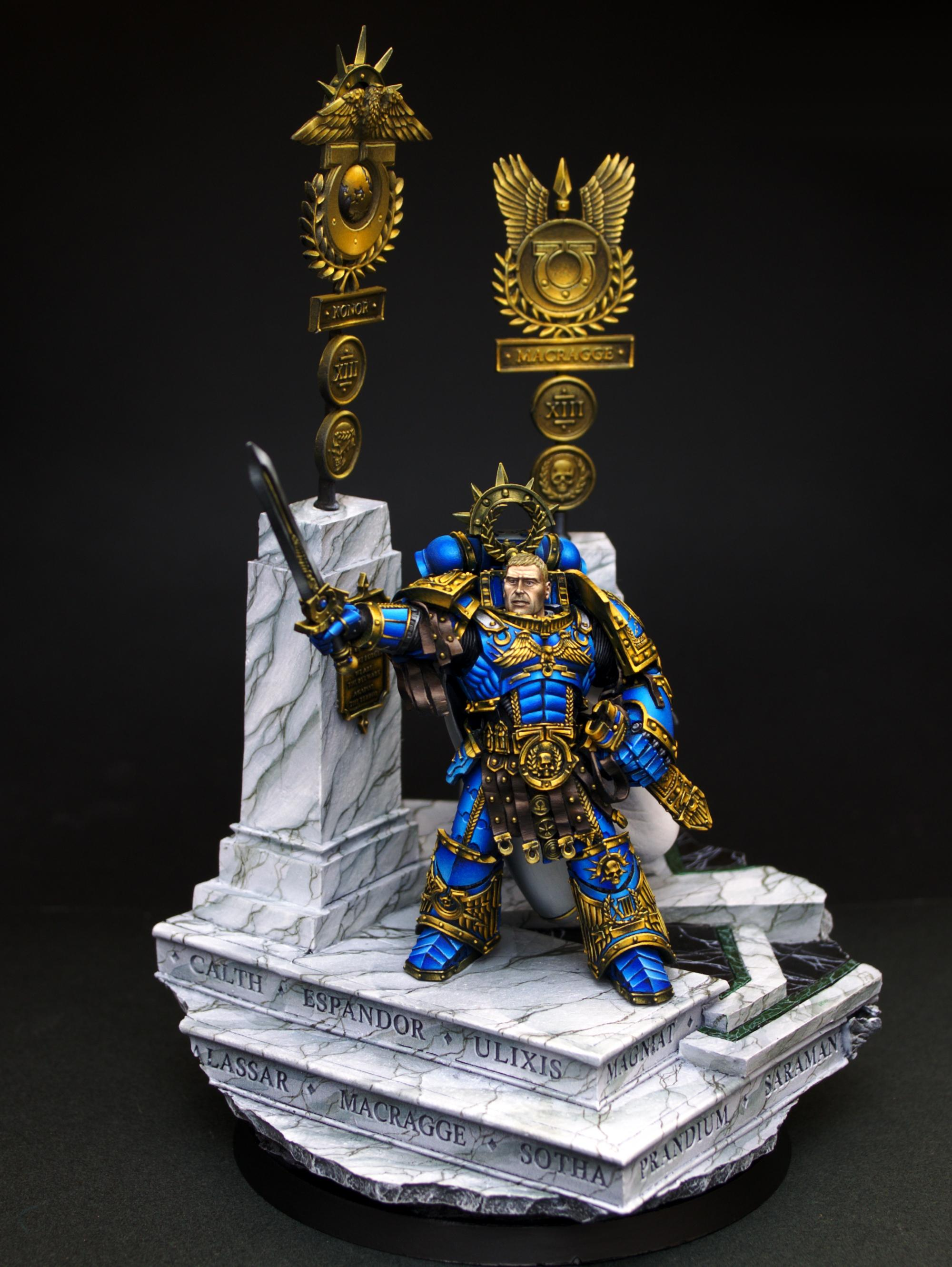 Flameon, Guilliman, Roboute, Ultramarines, Warhammer 40,000