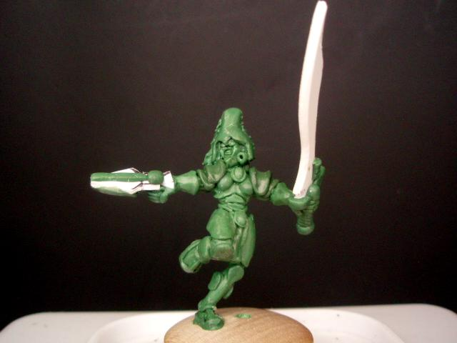 Banshee Sculpt, Conversion, Edward Myst, Howling Banshees, Sculpting