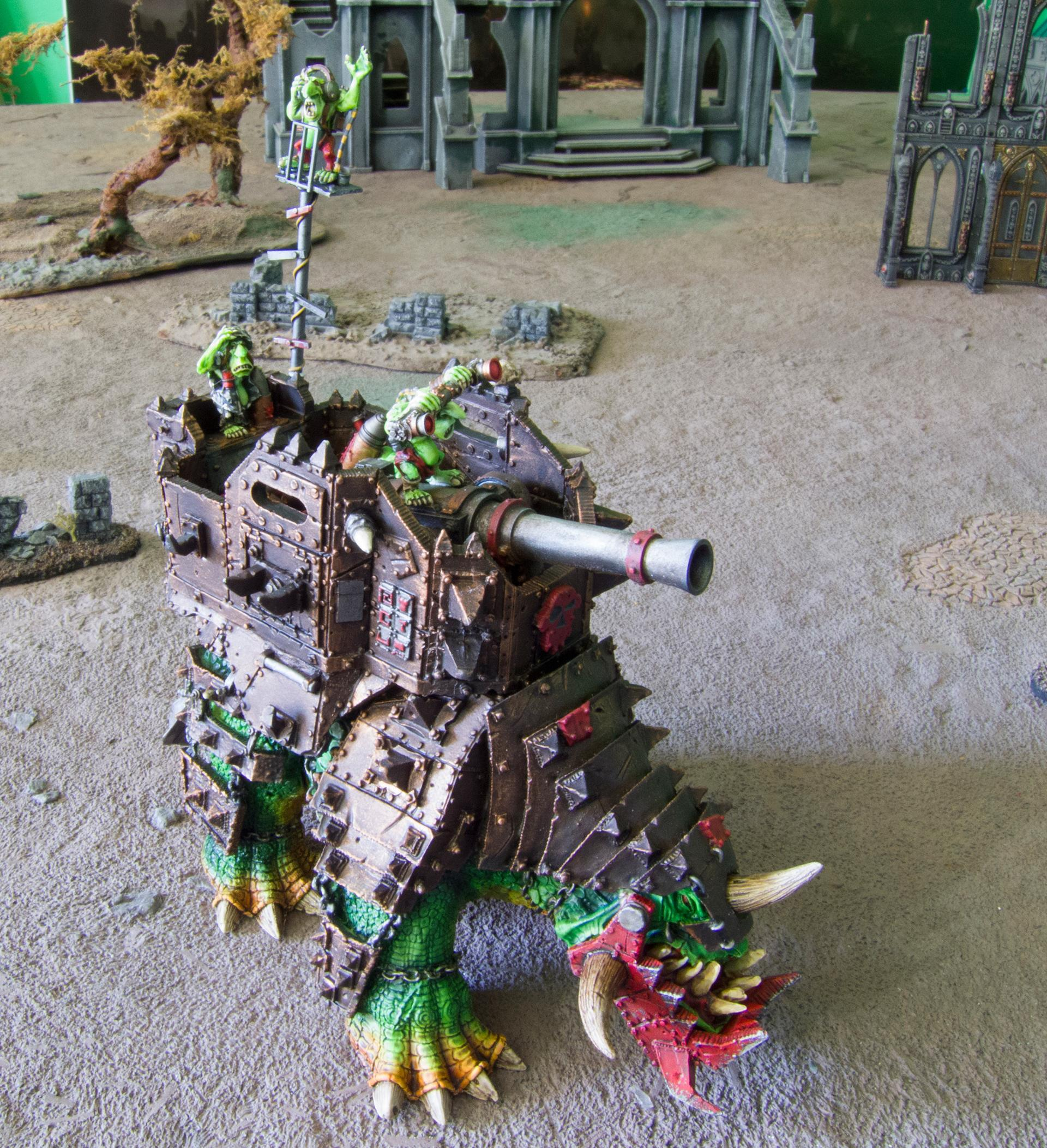 Gretchin, Grots, Orks, Ouze, Squiggoth