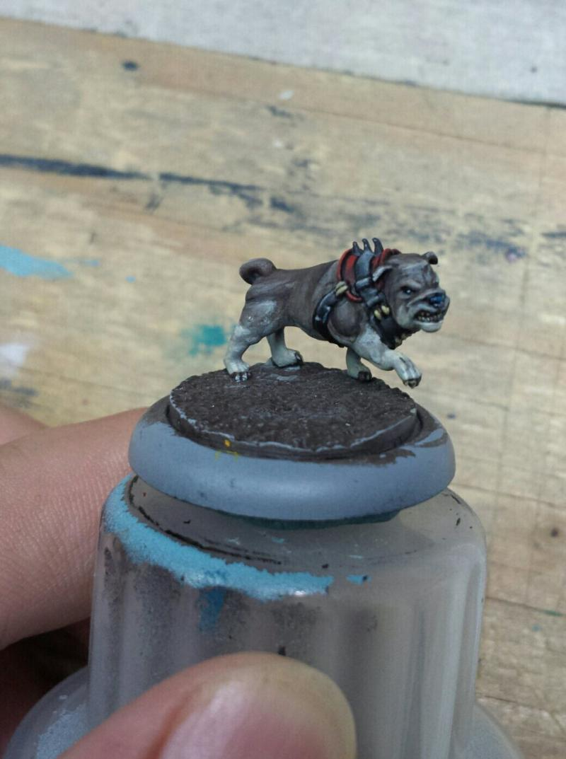 Butcher, Guild Ball, Mascot, Steamforged Games, Work In Progress