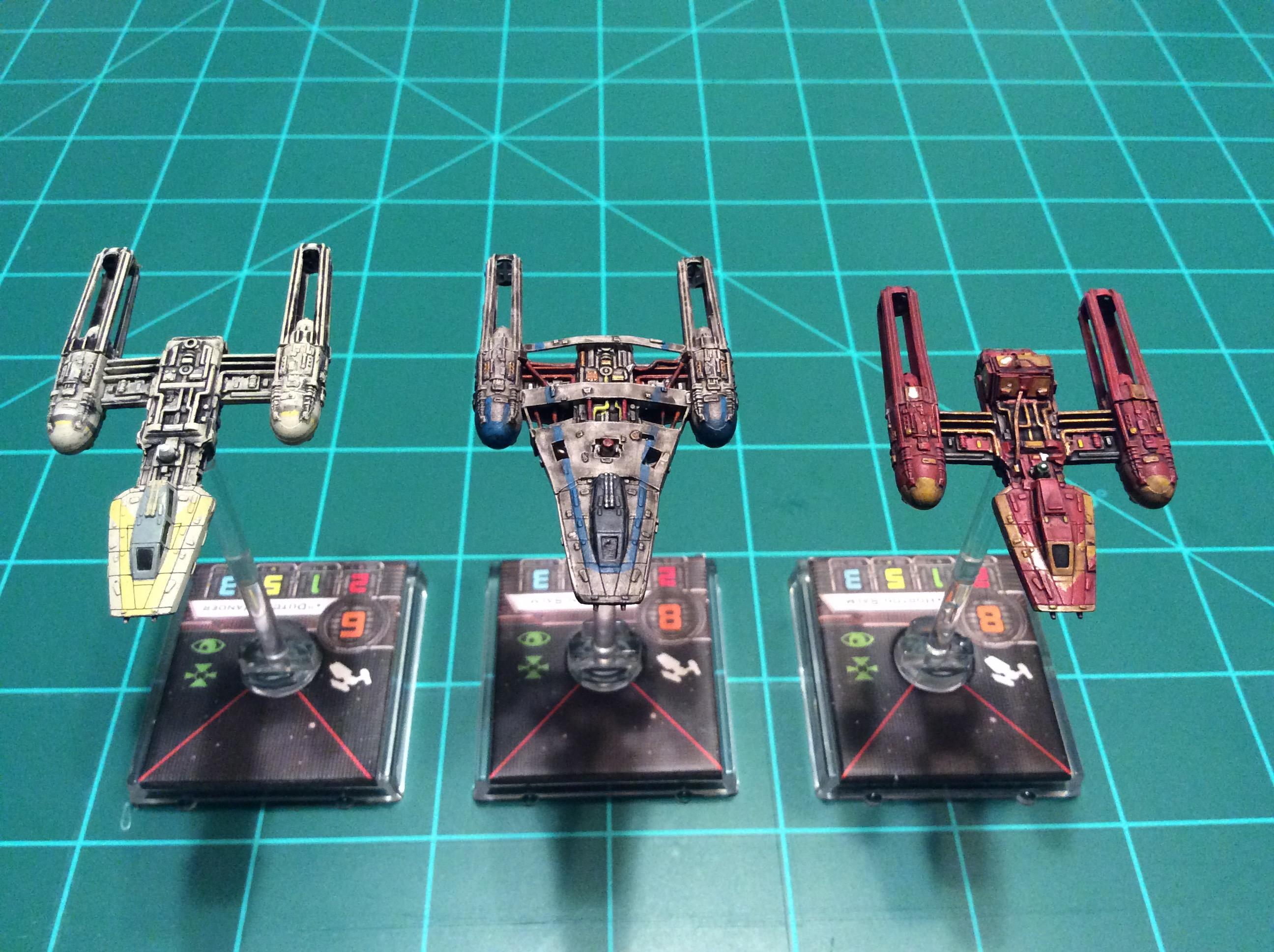 1/270 Scale, Star Wars, X-wing Miniatures Game, Y-wing