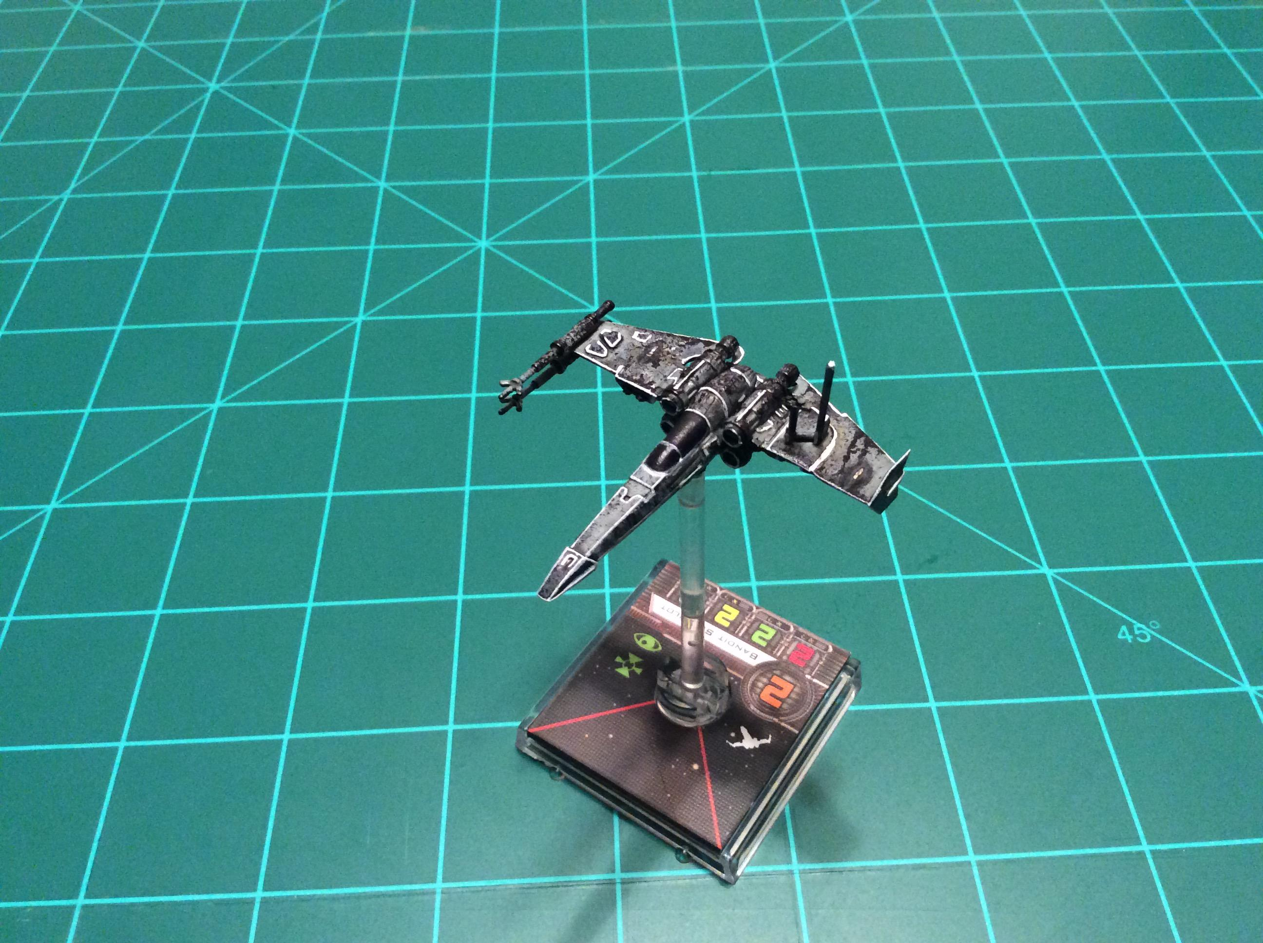 1/270 Scale, Star Wars, X-wing Miniatures Game, Z-95