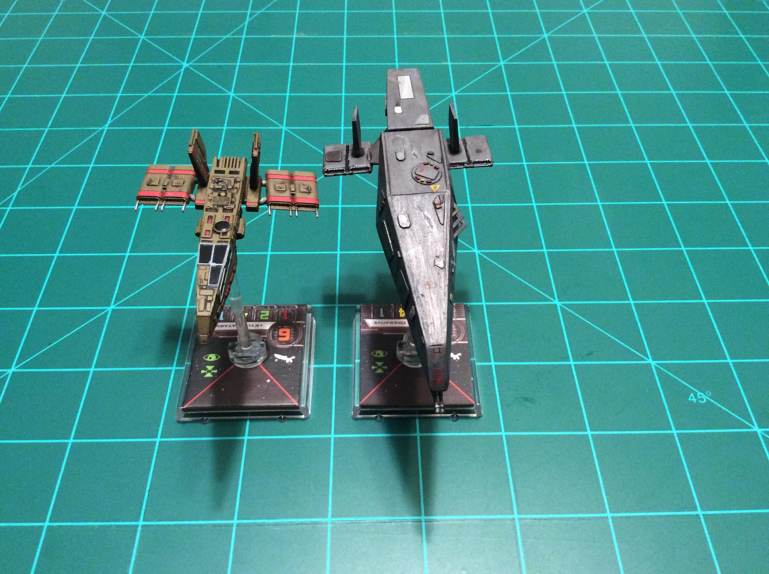 1/270 Scale, Hwk-290, Star Wars, X-wing Miniatures Game