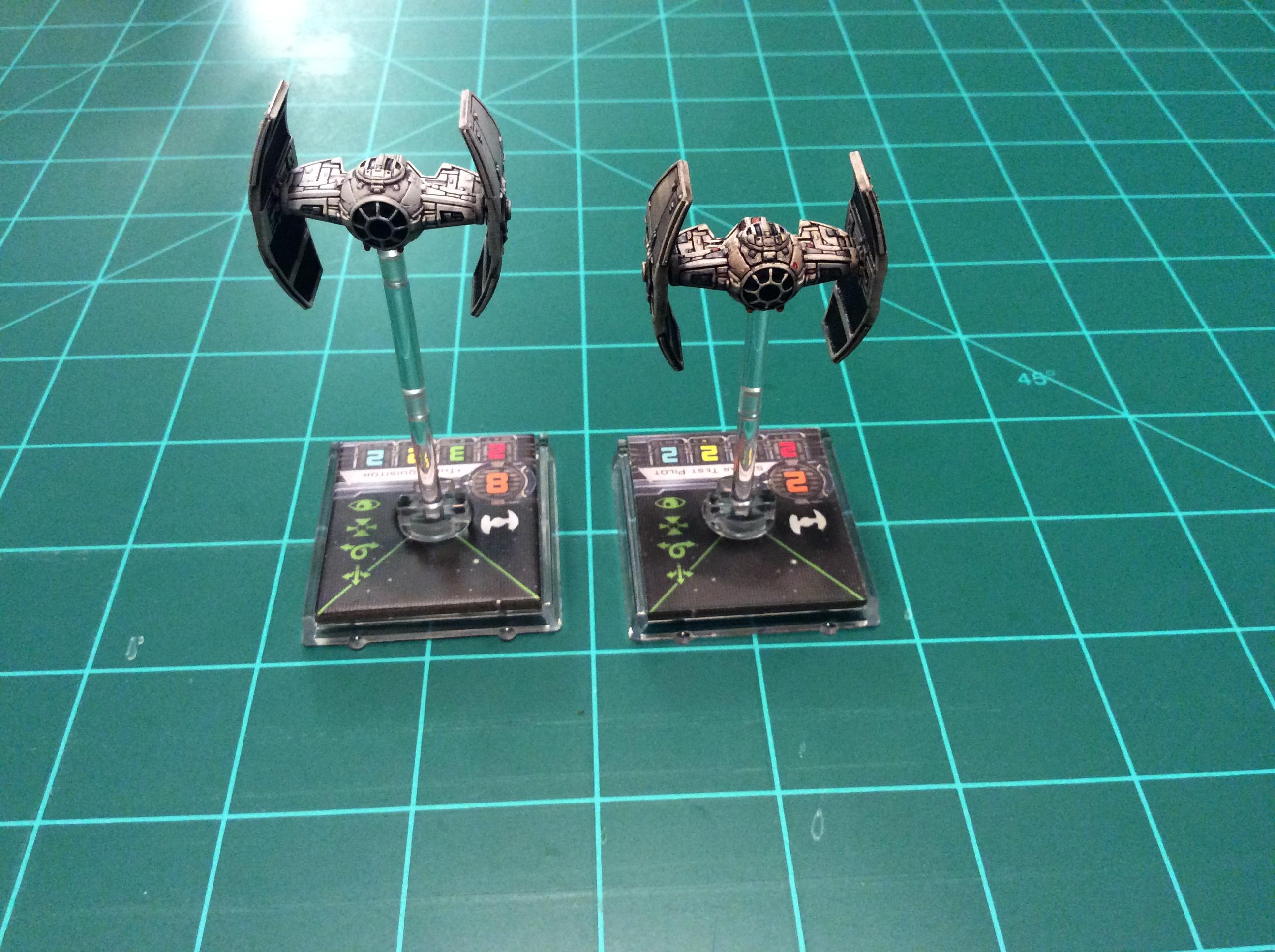 1/270 Scale, Star Wars, Tie Advanced Prototype, X-wing Miniatures Game
