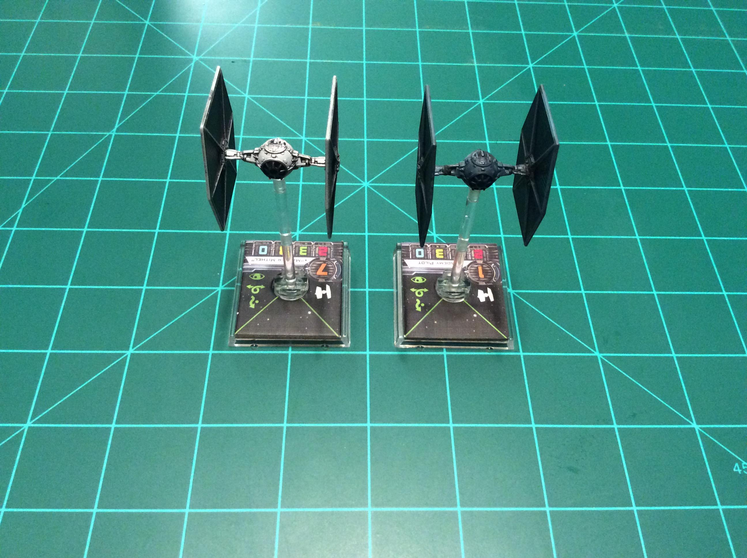 1/270 Scale, Advanced, Defender, E-wing, Interceptor, Scum And Villainy, Star Wars, Tie Fighter, X-wing Miniatures Game