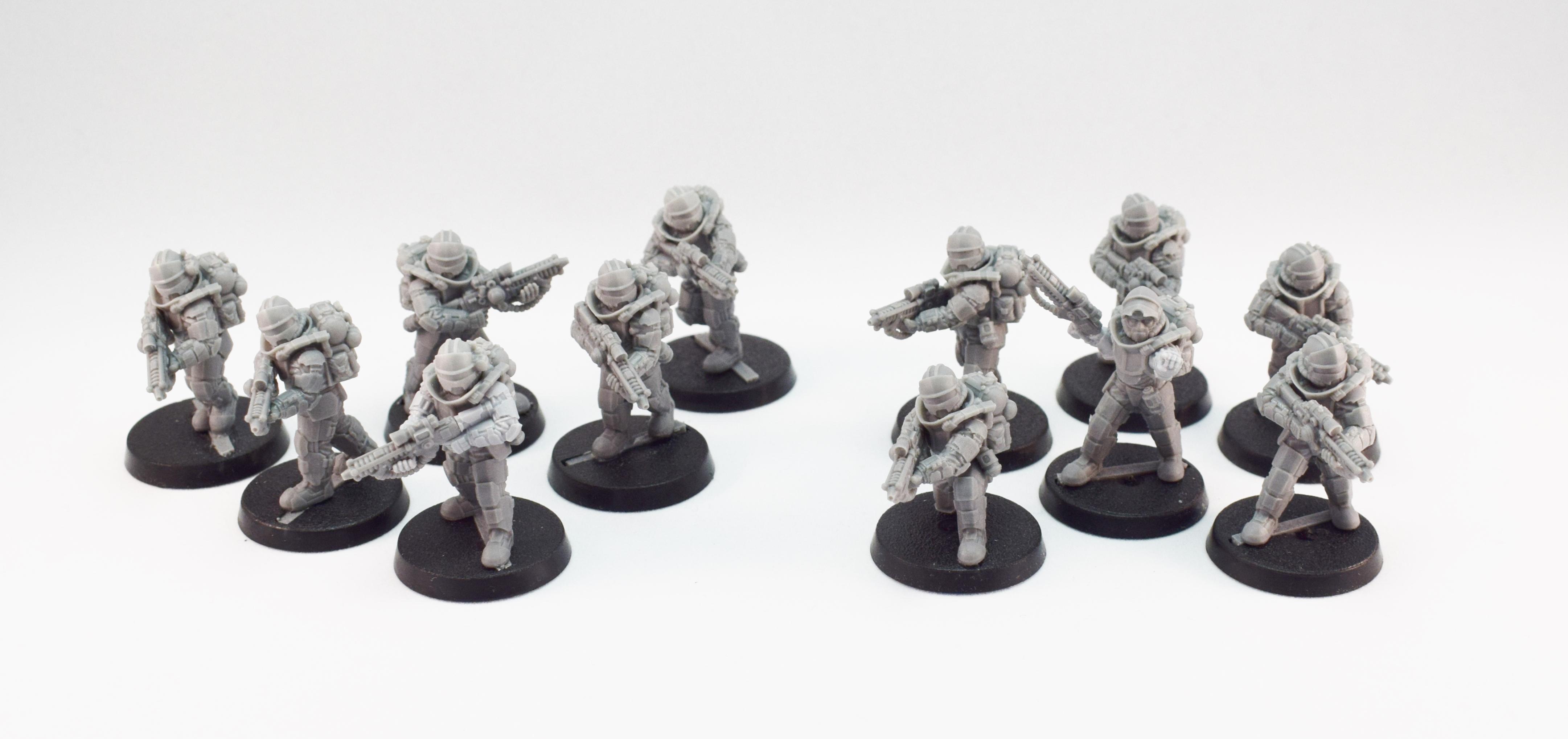 Adeptus Mechanics, Anvil Industry, Imperial Guard, Martian Orbital Fusiliers, Mechanics, Regiments
