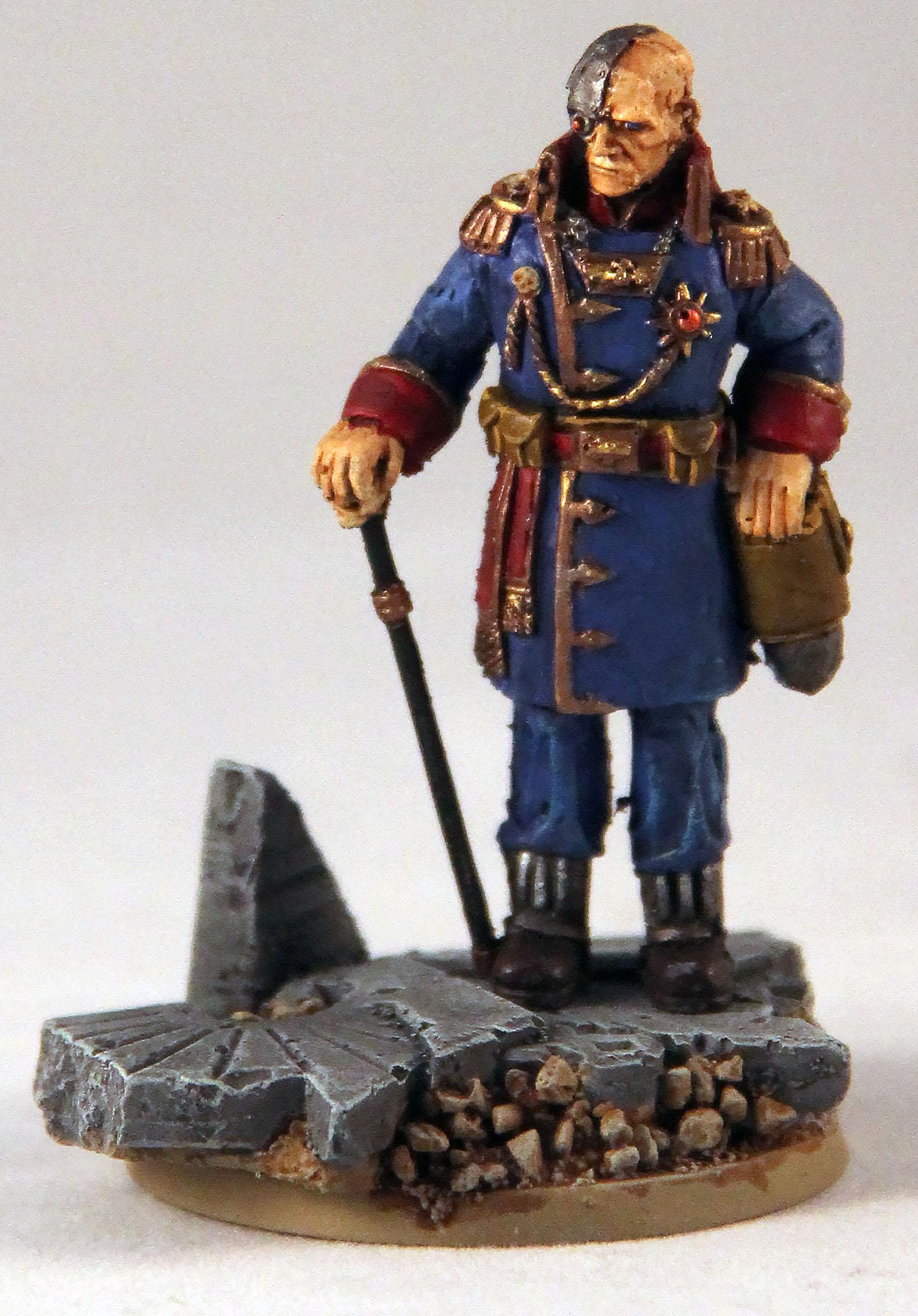 54mm, Imperial Guard, Imperial Officer, Officer