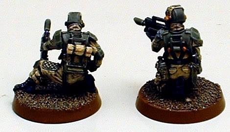 Astra Militarum, Captain Brown, Drop Troops, Elysian, Elysian Drop Troopers, Imperial Guard, Junior Officer