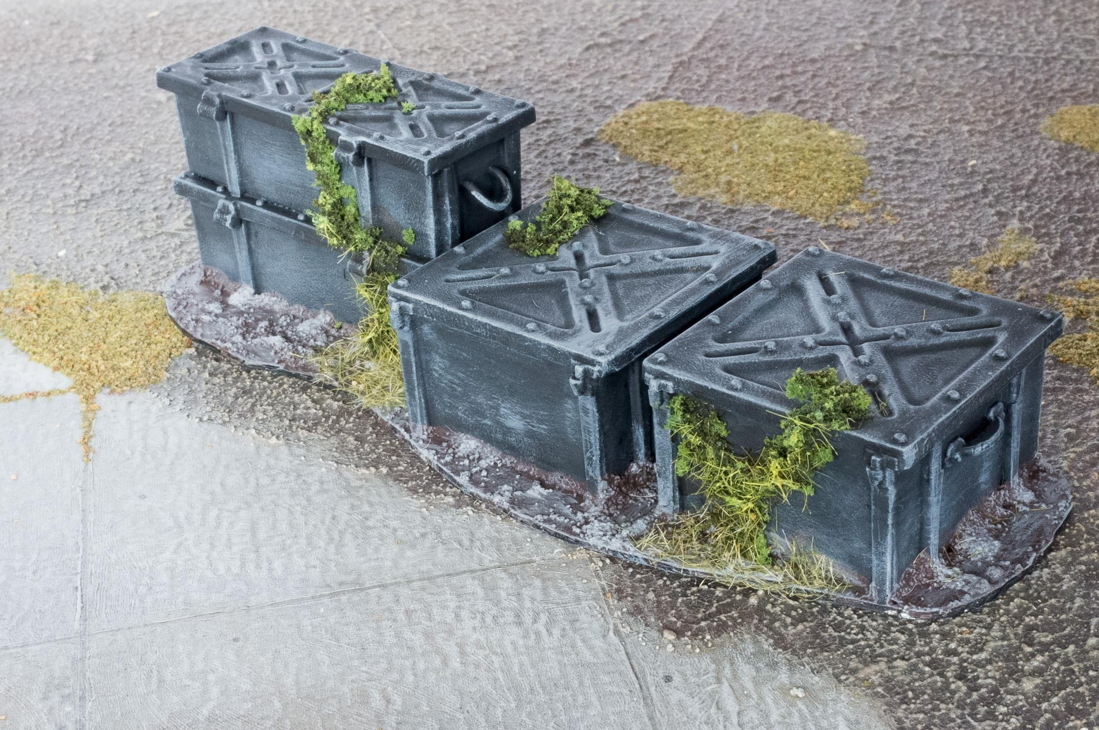 Crates, Maelstrom's Edge, Obstacle, Terrain