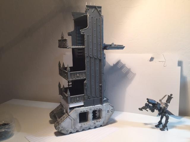 Land Raider, Seige Tower, Siege Tower, Space Marines