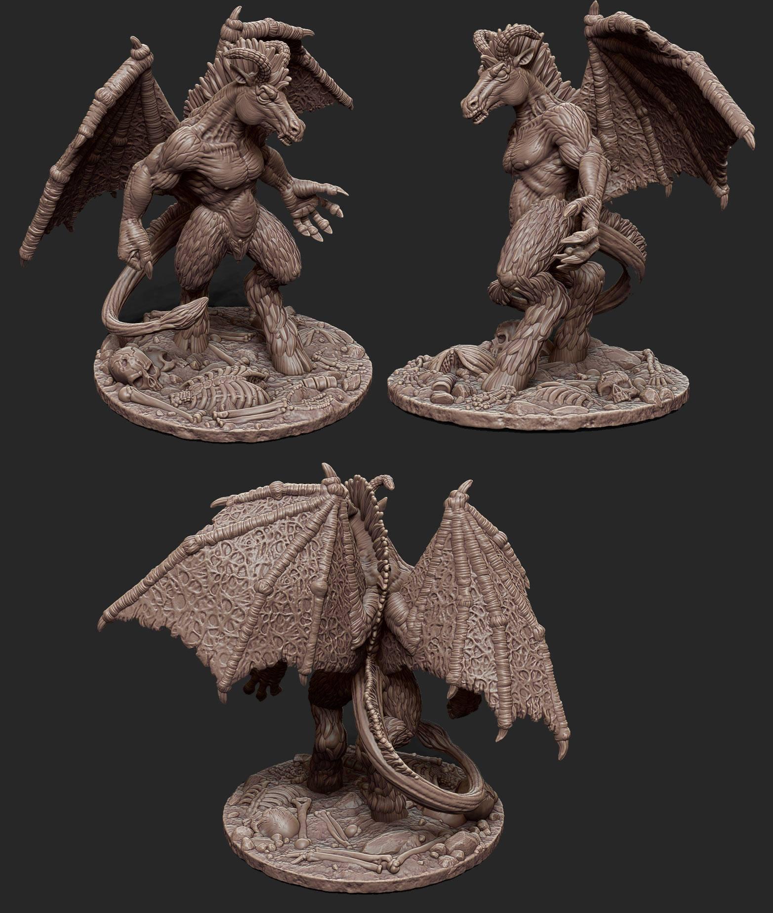 Jersey Devil Sculpt