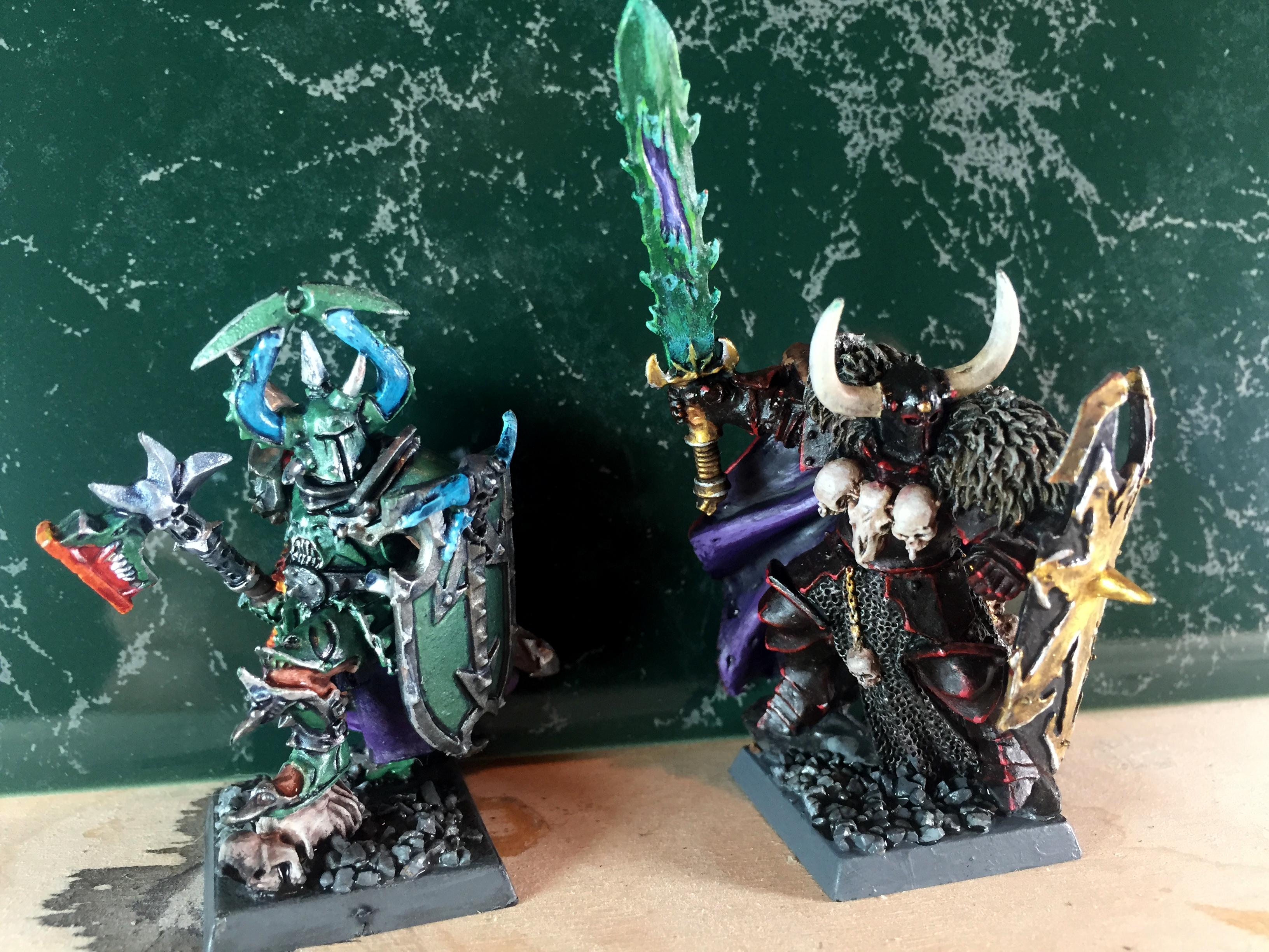 Archaon, Chaos, Chaos Lord, Chaos Warrior, Harry The Hammer, Hero, Warhammer Quest