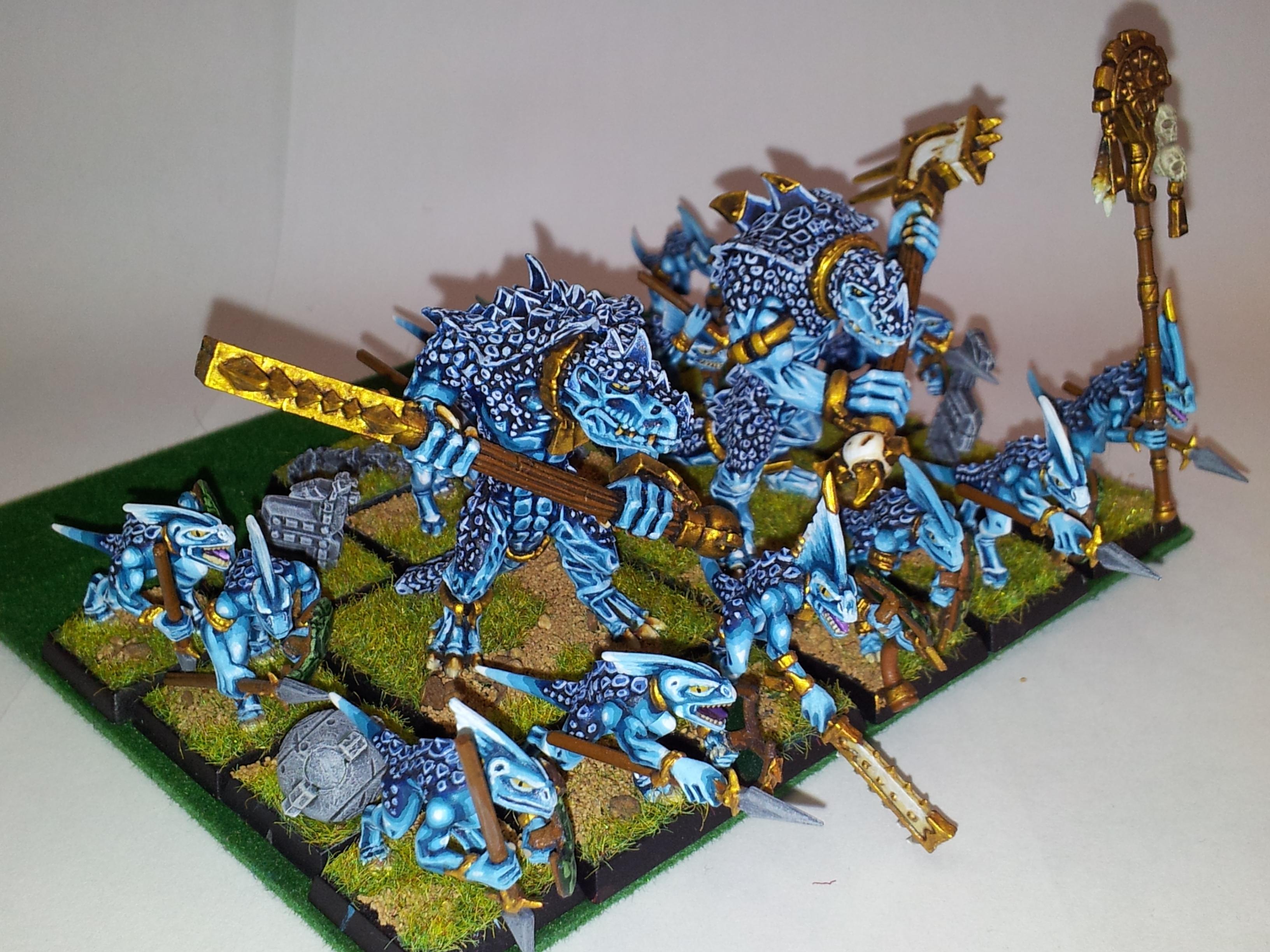 Kroxigor, Lizardmen, Sking Cohort, Warhammer Fantasy