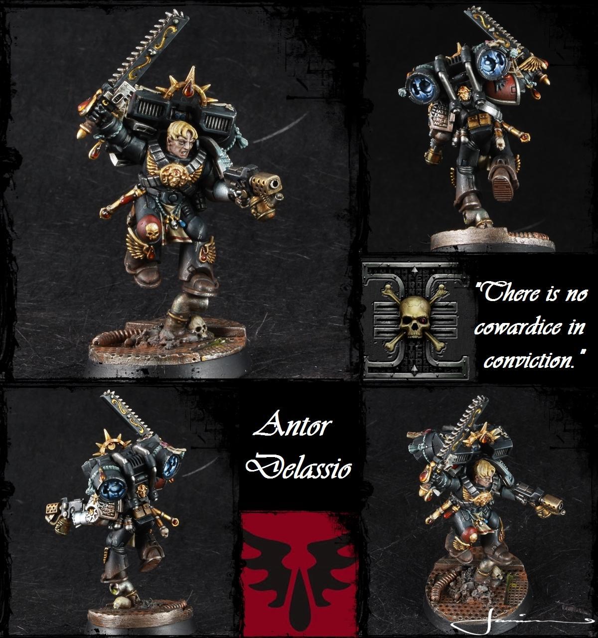 Antor Delassio, Blood Angels, Deathwatch, Deathwatch:overkill, Ordo Xenos, Warhammer 40,000