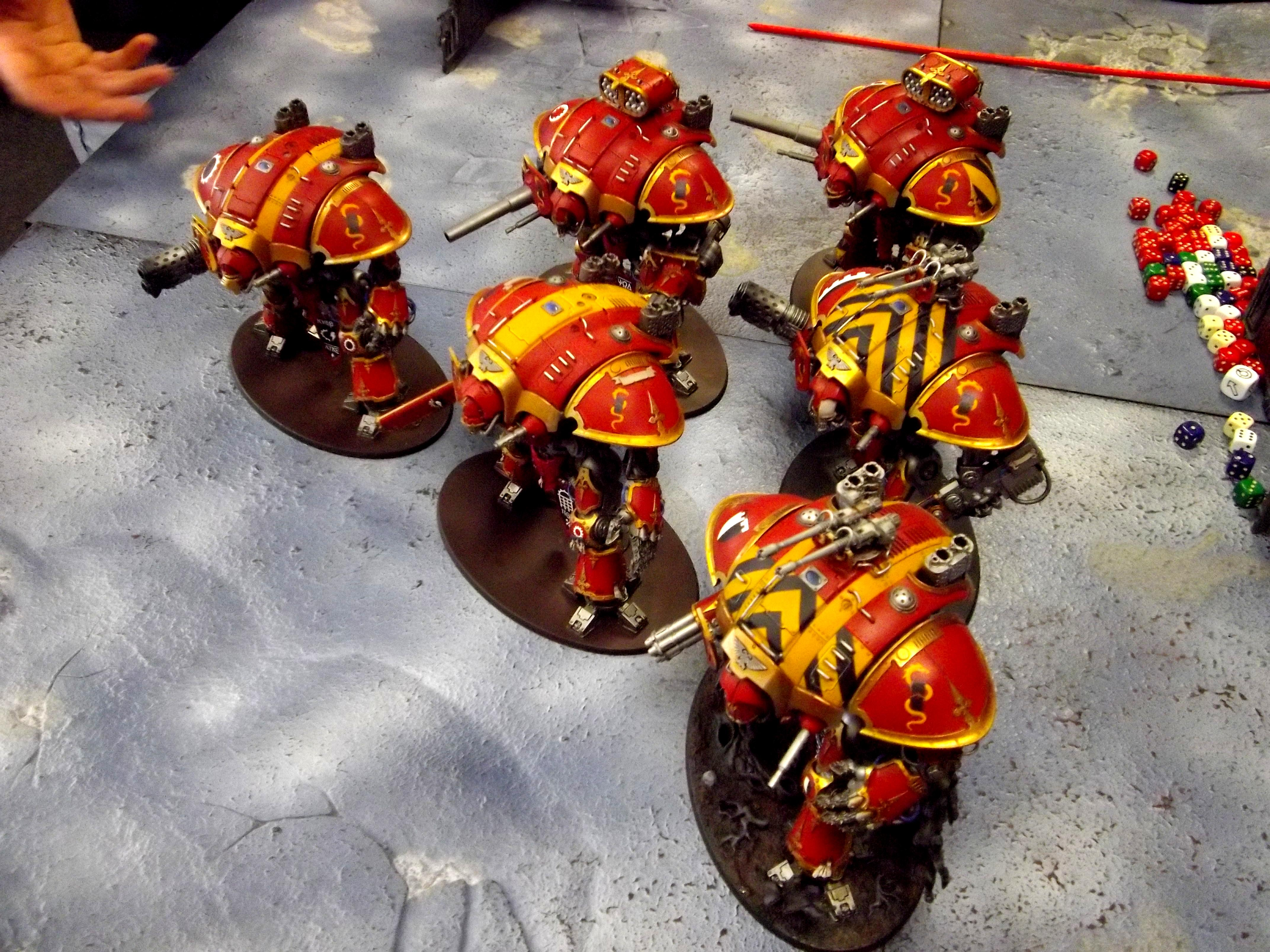 Imperial Knight, Krast, Mechanicum