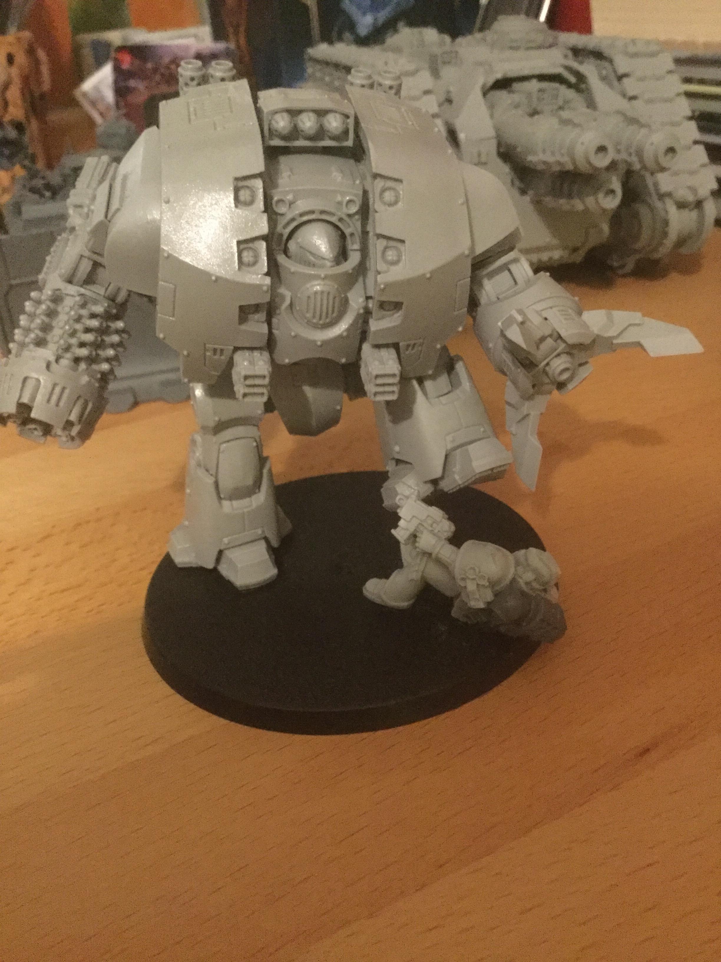 30k, Leviathan Siege Dreadnought, Space Wolves