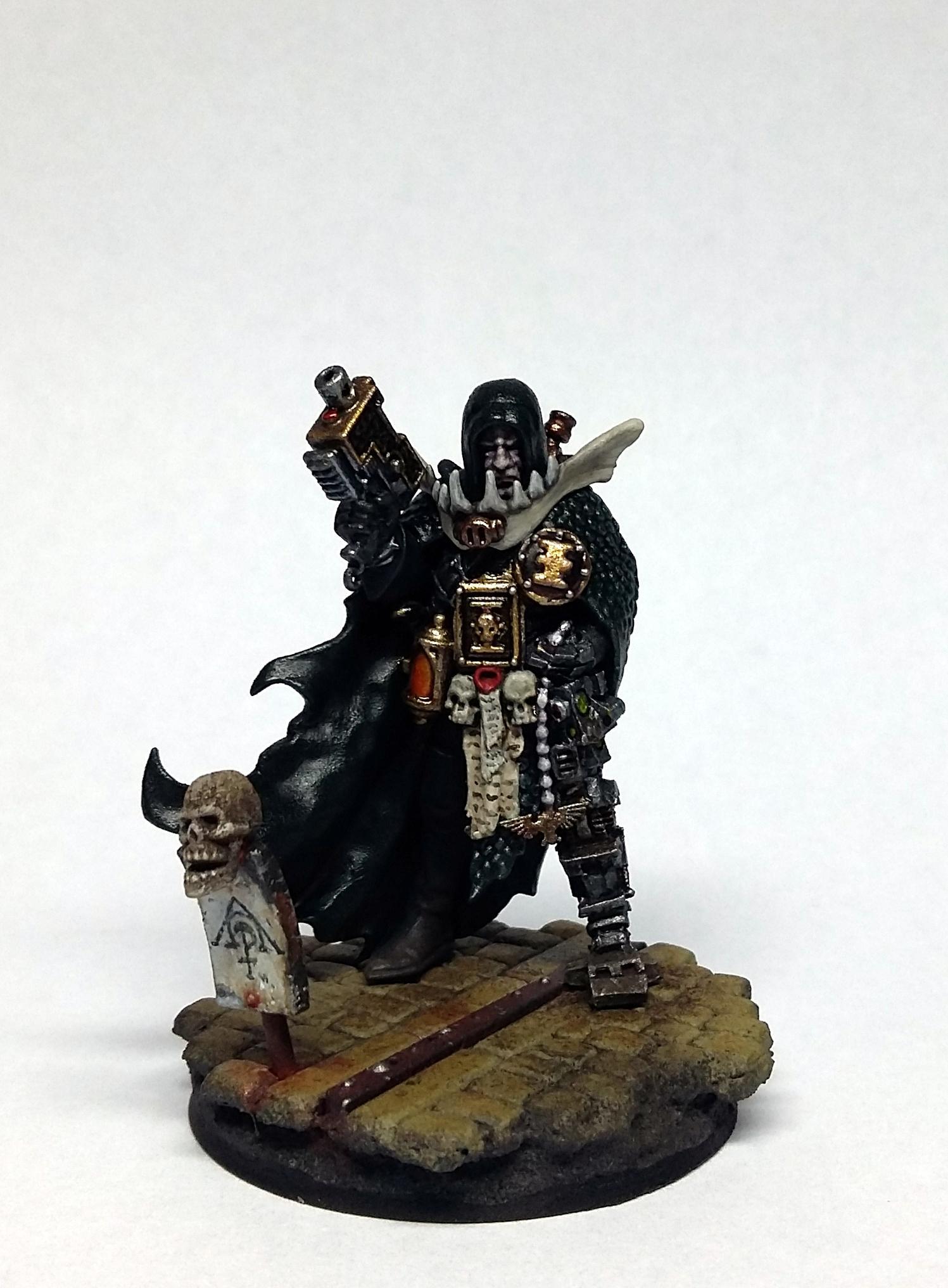 Cultist, Inquisitor, Ordo Scriptorum, Pilgrims, Pilgrym, Scribe