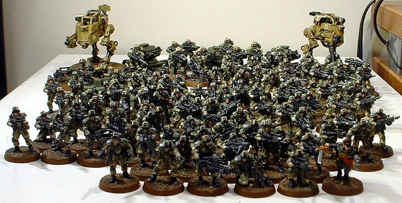 Astra Militarum, Captain Brown, Drop Sentinels, Drop Troops, Elysian, Elysian Drop Troop Army, Imperial Guard, Pcs, Sentry Guns, Special Weapon Squads, Valkyrie, Veteran, Vulture