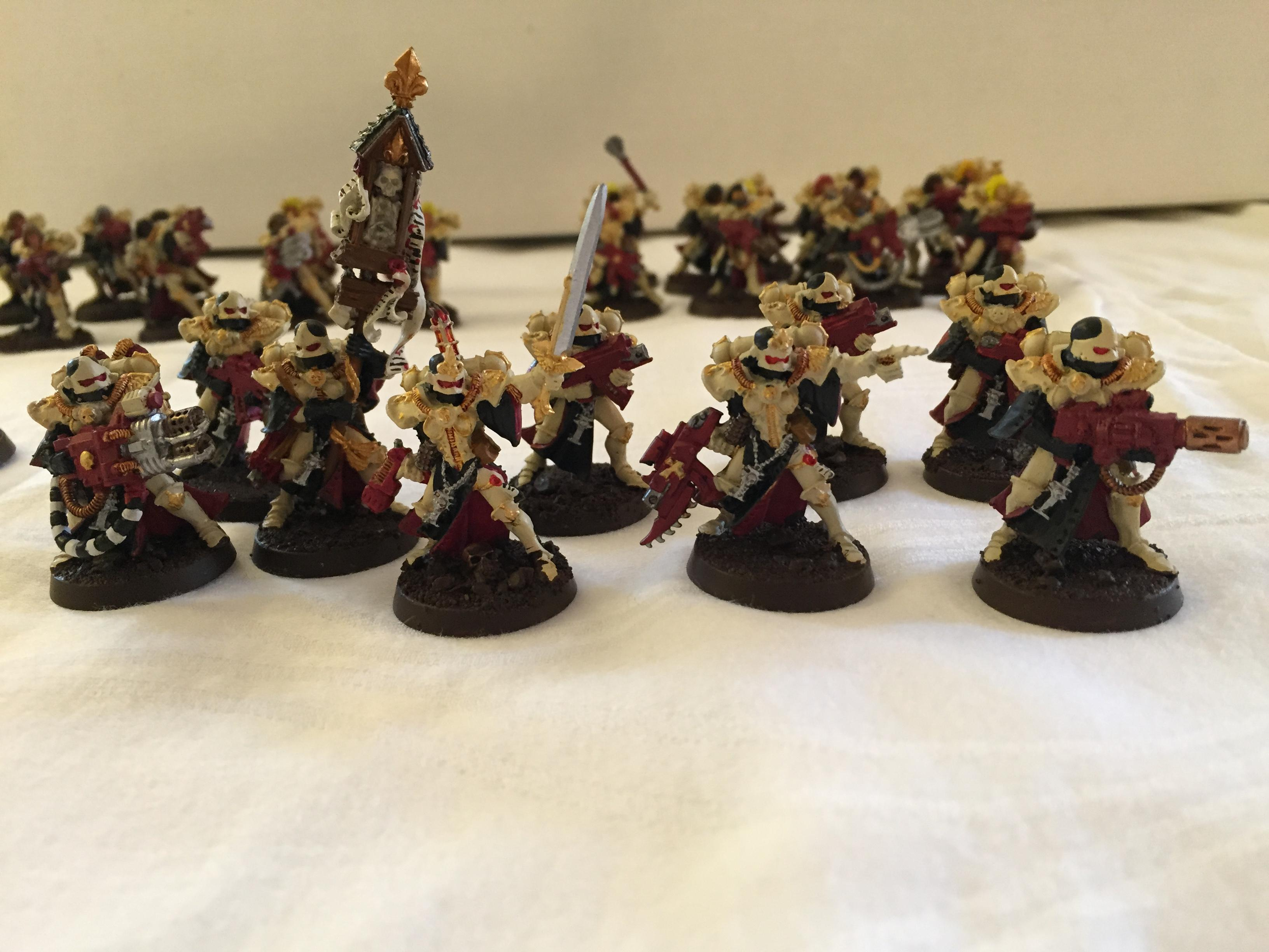 Adepta Sororitas, Conversion, Inquisition, Sisters Of Battle, Warhammer 40,000, Witch Hunters