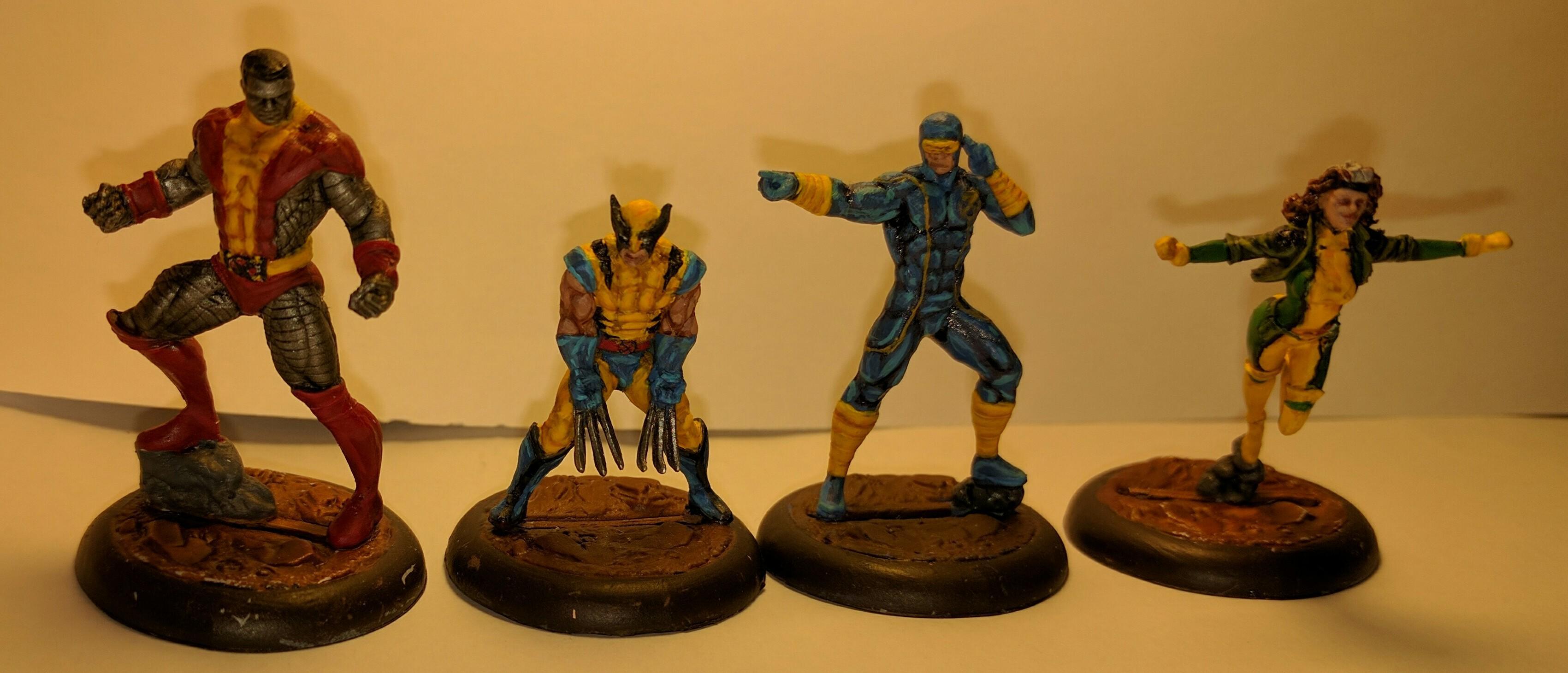 Arrow, Batman, Hulk, Iron Man, Justice League, Magneto, Marvel, X-men