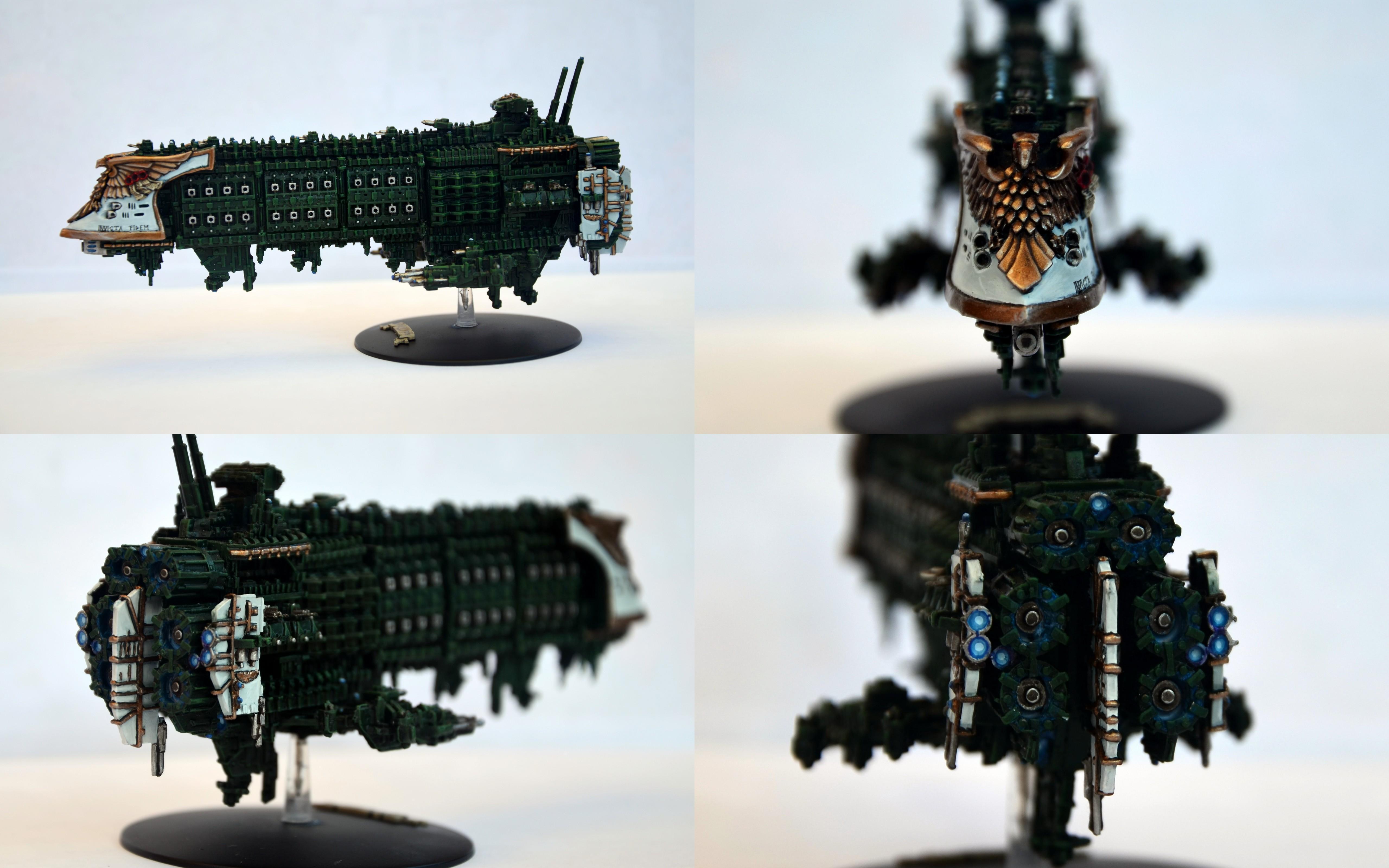 Battlefleet Gothic, Battleship, Dreadnought, Gloriana, Imperial Navy, Scratch Build