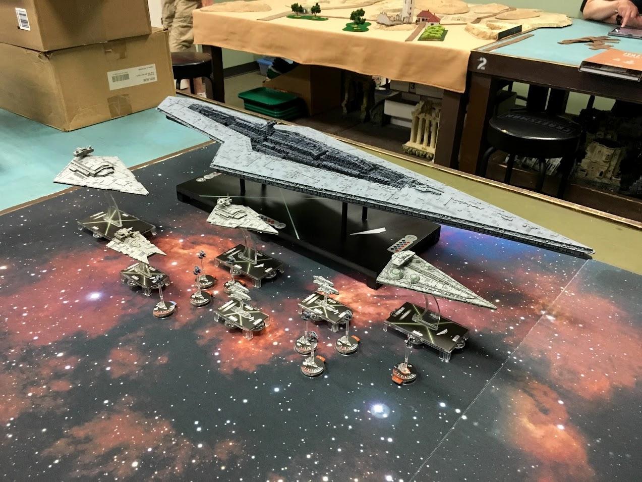 Armada, Big, Empire, Huge, Star Destroyer, Star Wars, Super Star Destroyer, X-Wing