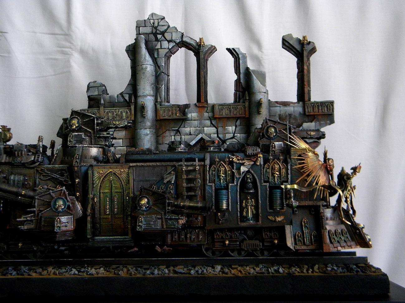 Diorama, Imperial, Train