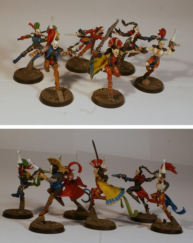 Eldar, Harlequins, Warhammer 40,000, Warhammer Fantasy