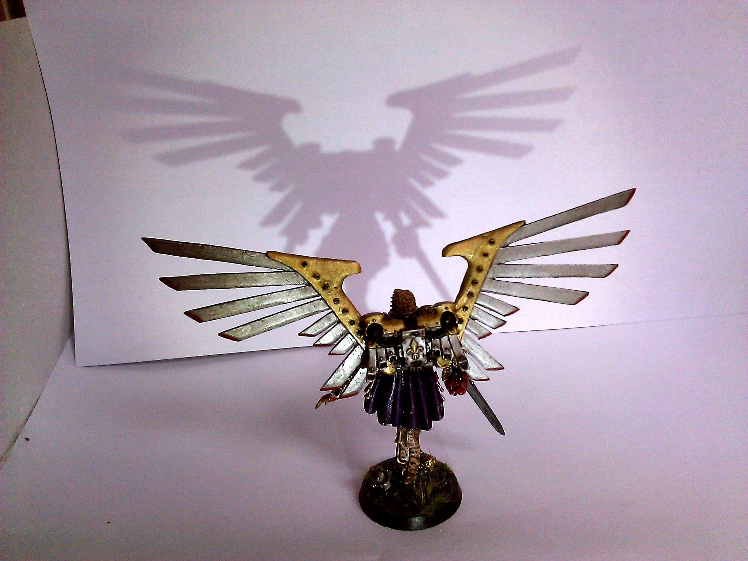 Celestine, Conversion, Saint, Sisters Of Battle, Winged