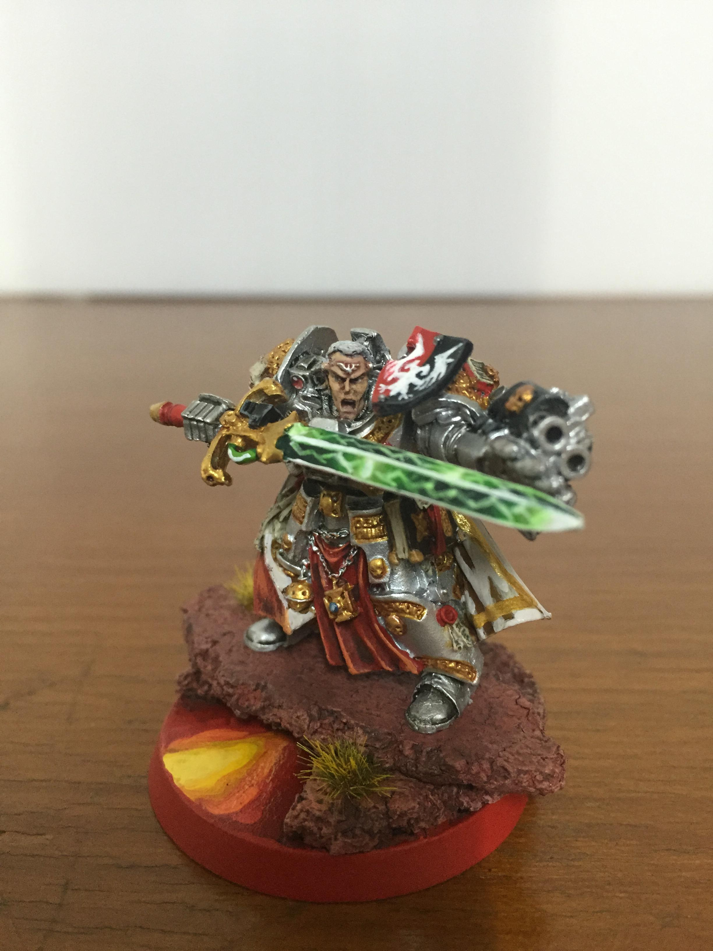 Brother, Captain, Grey Knights, Stern