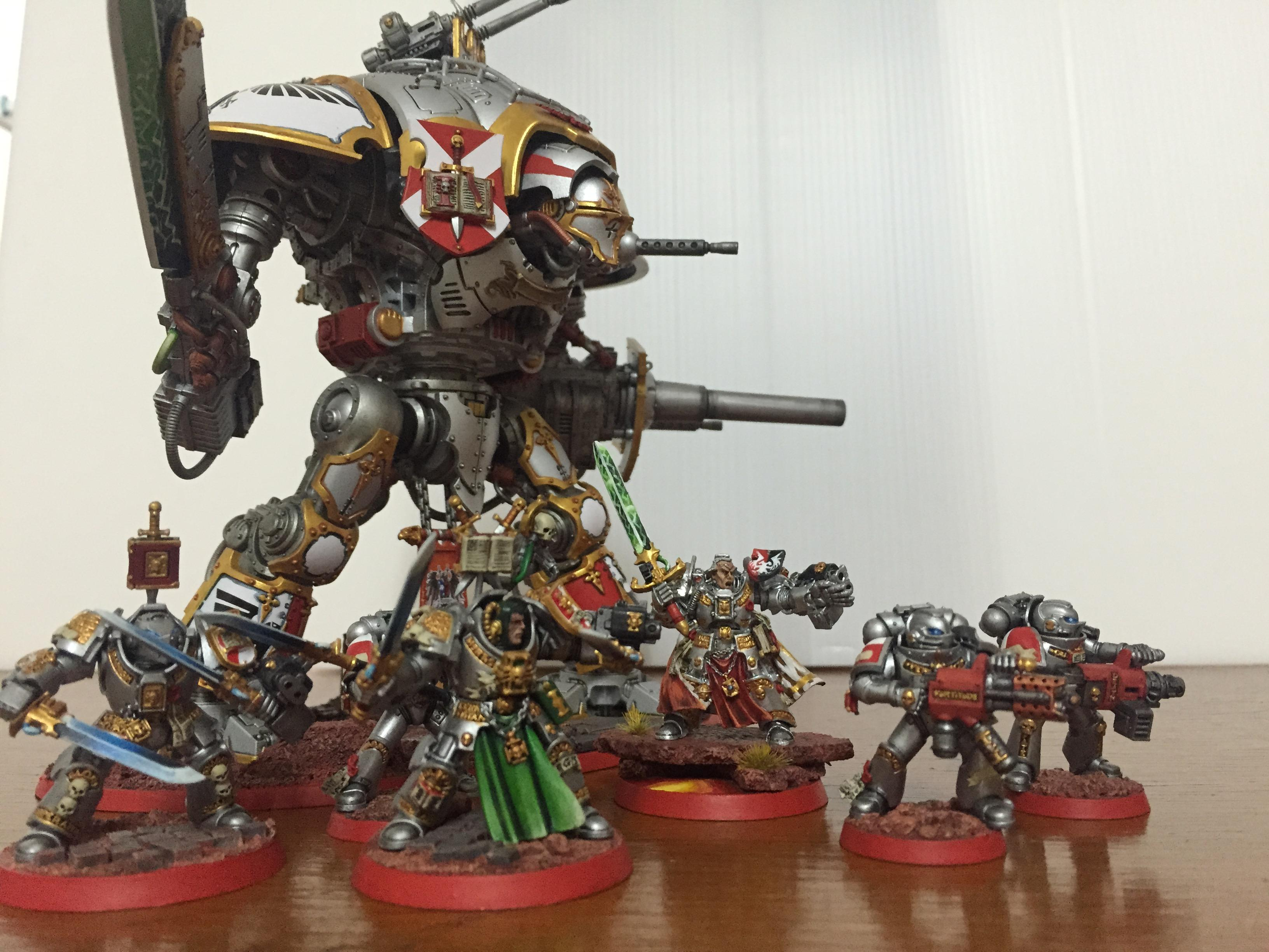 Brother, Captain, Grey Knights, Imperial Knight, Paladin, Purgation, Purifier, Stern, Titan