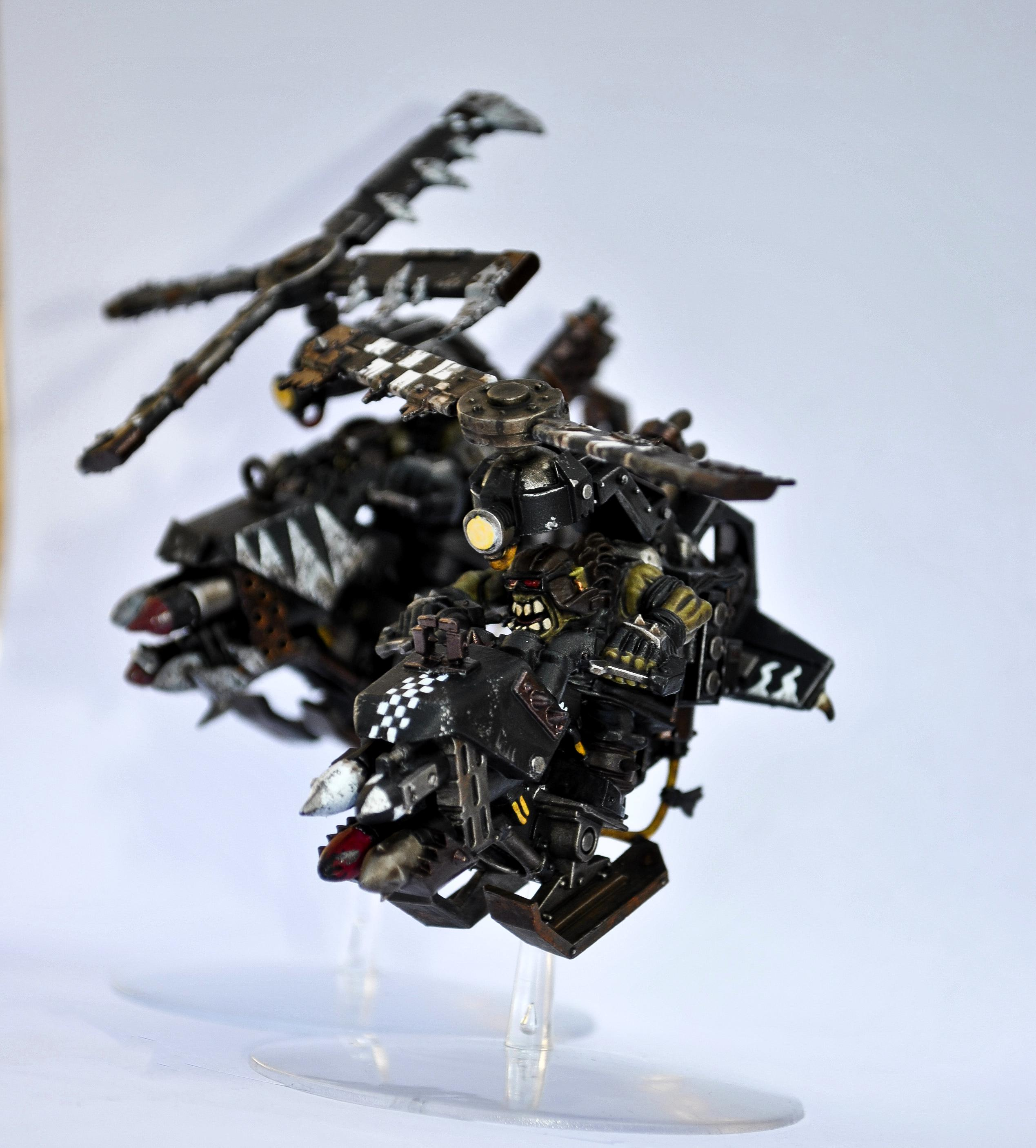 Black, Cables, Checks, Dags, Deff Dread, Deffkopta, Dirty, Flames, Freehand, Goff, Goffs, Goggles, Gorbash, Greenskins, Helicopter, Industrial, Klan, Kopta, Light, Messy, Orks, Pilot, Rokkits, Rotor, Rusty, Speedfreak, Teeth, Warhammer 40,000, White