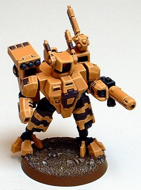 Captain Brown, Crisis Battlesuit, T'au, Tau, Tau Sept, Warhammer 40,000