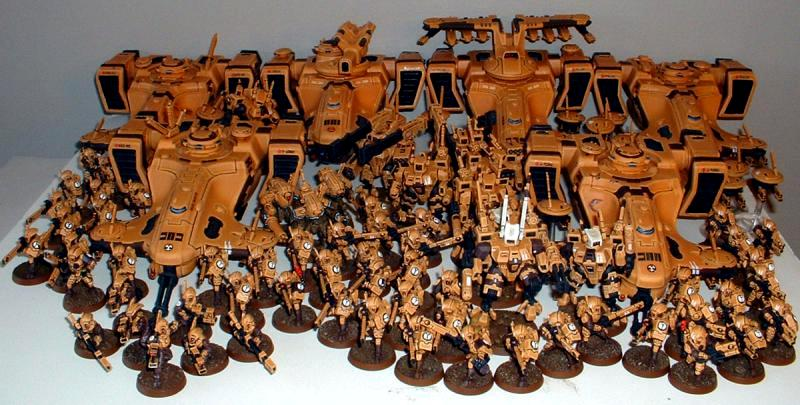 Captain Brown's Tau Sept Army, Tau Sept Army