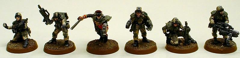 Astra Militarum, Captain Brown, Drop Troops, Elysian, Imperial Guard