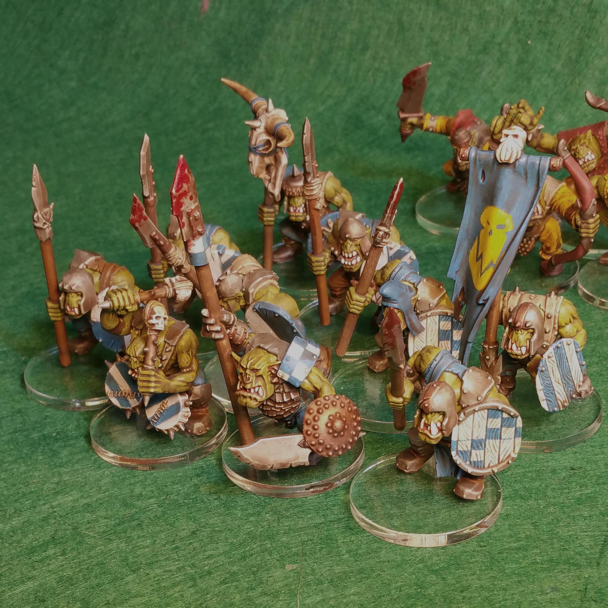 Age Of Sigmar, Greenskinz, Orcs, Orruks