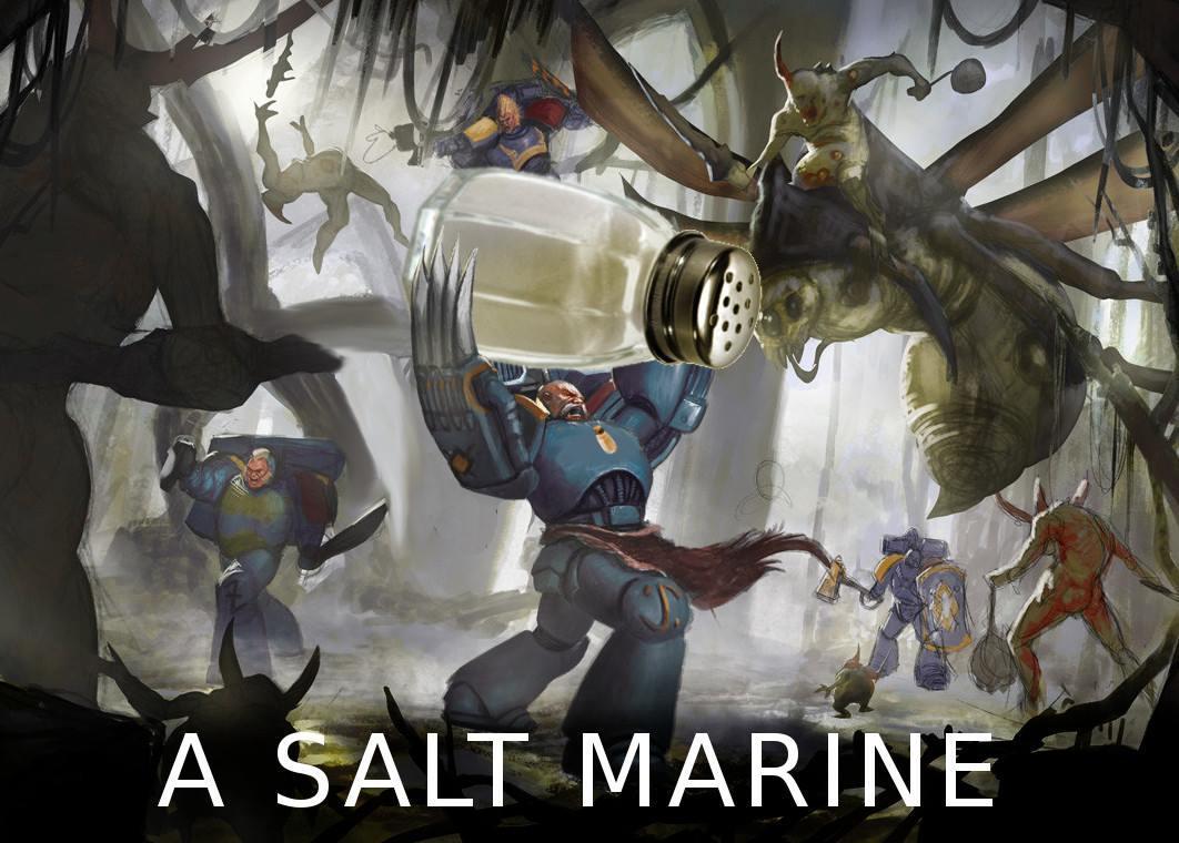 Fun, Humor, Joke, Salt