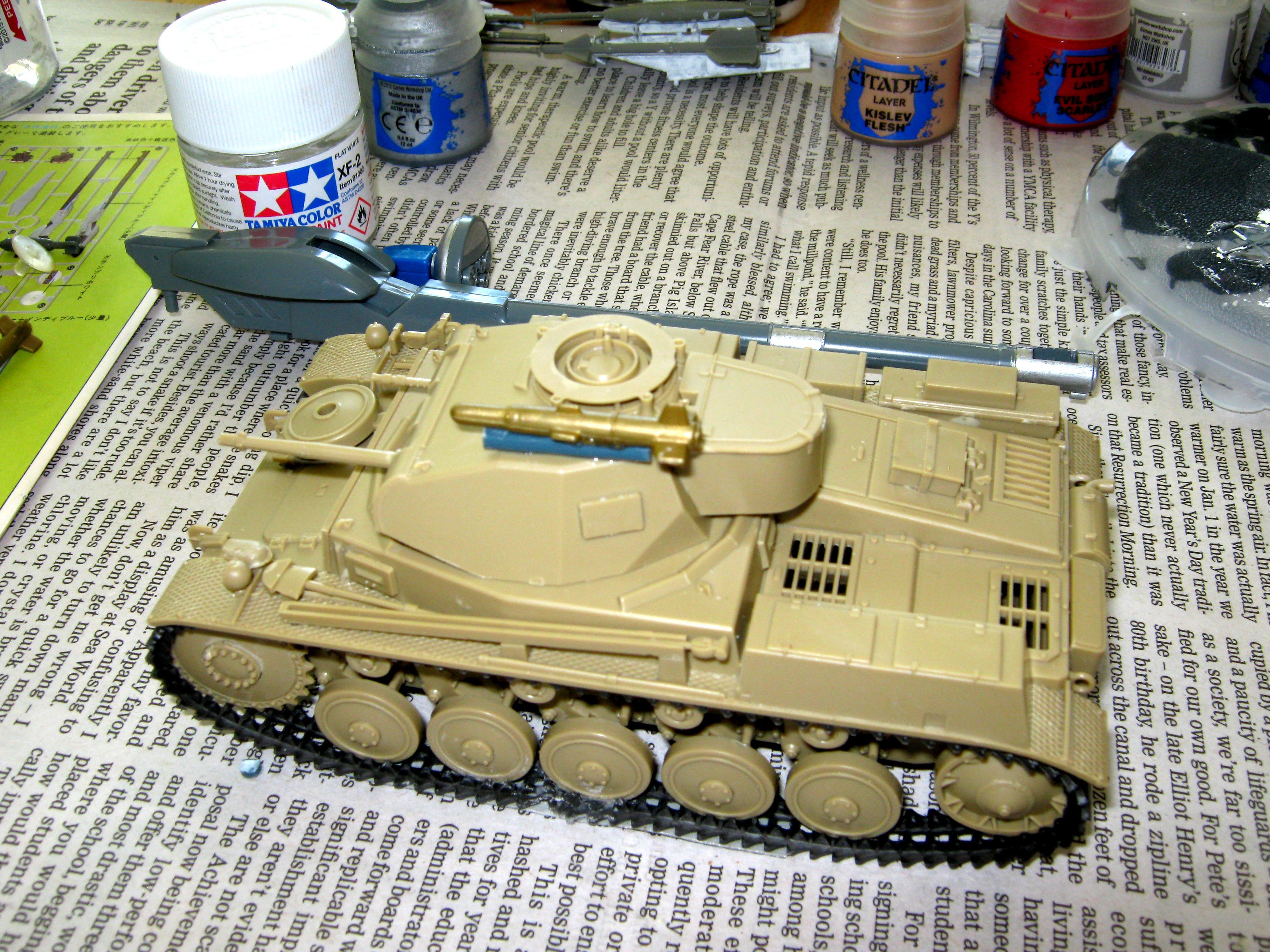 Conversion, Panzer, Panzer Ii, Tank, World War 2